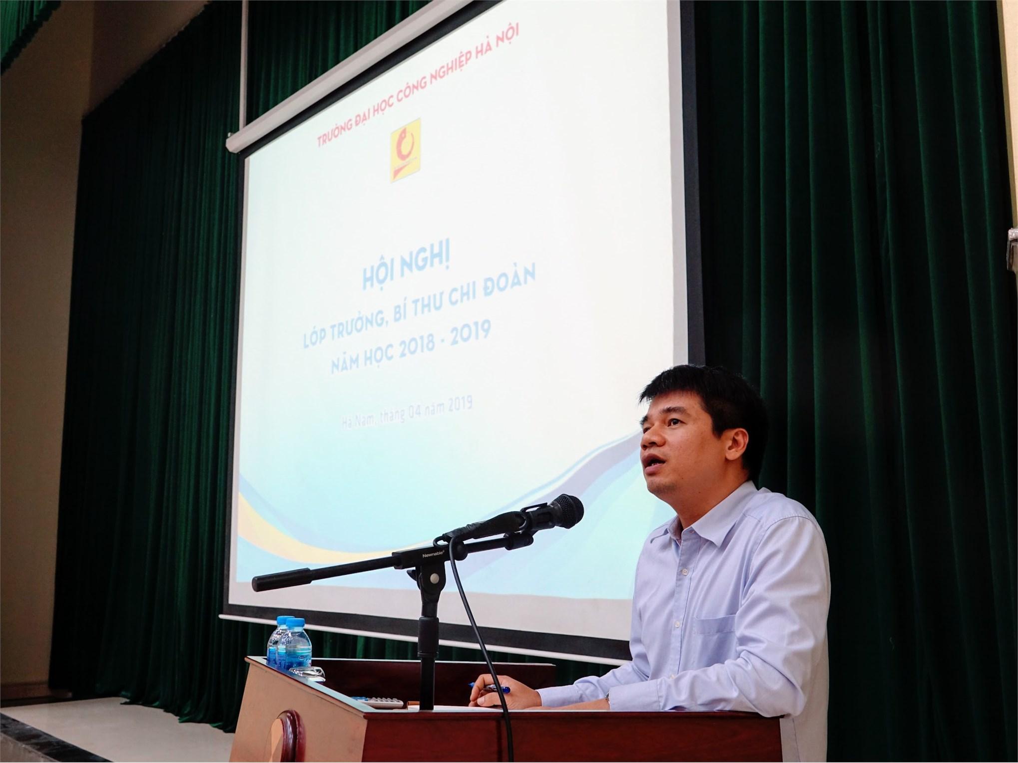 Hội nghị Lớp trưởng, Bí thư Chi đoàn tại Cơ sở đào tạo Hà Nam: lắng nghe và giải đáp trên 40 ý kiến của sinh viên