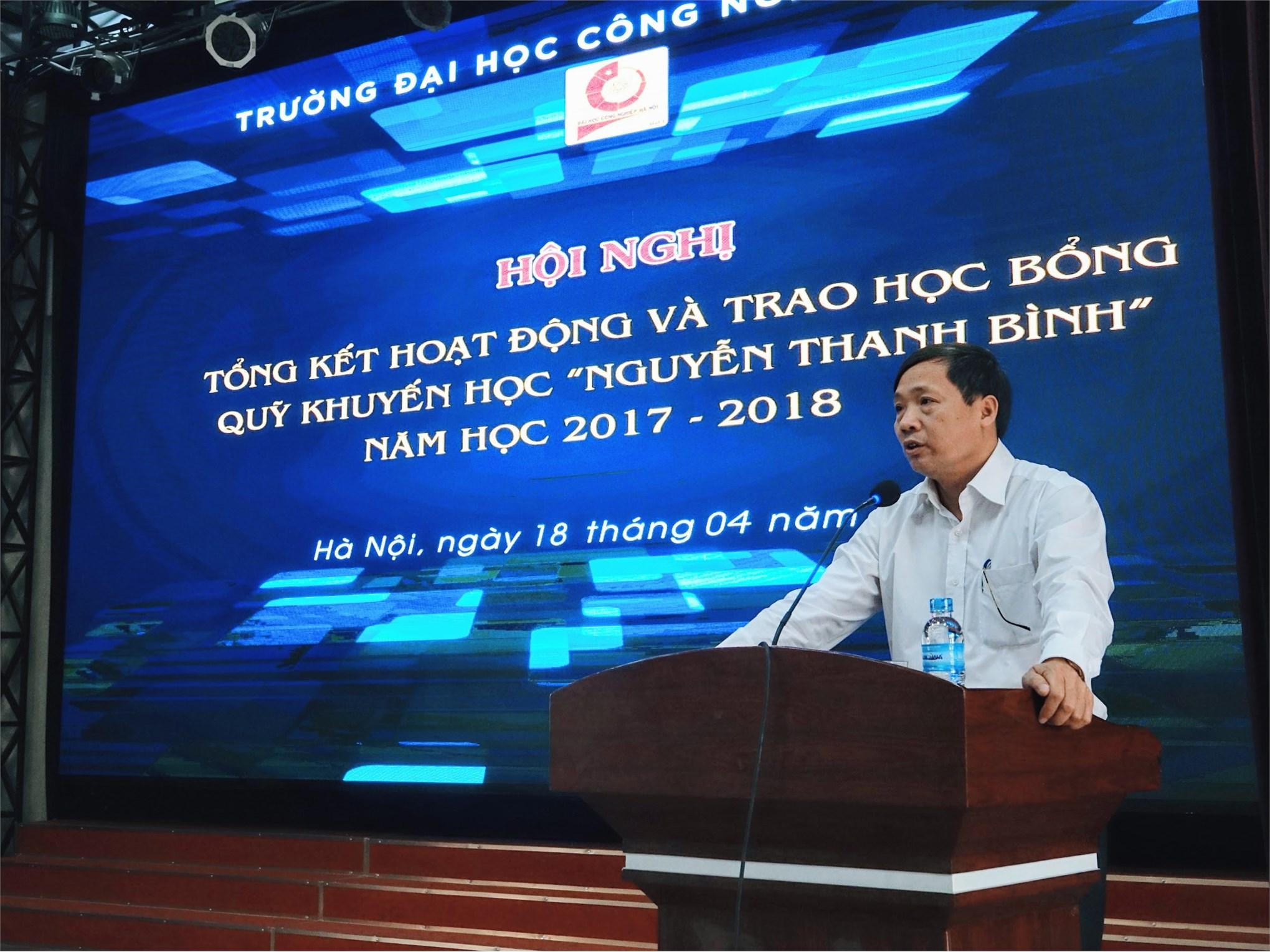 Quỹ khuyến học Nguyễn Thanh Bình đạt số dư 6,2 tỷ đồng