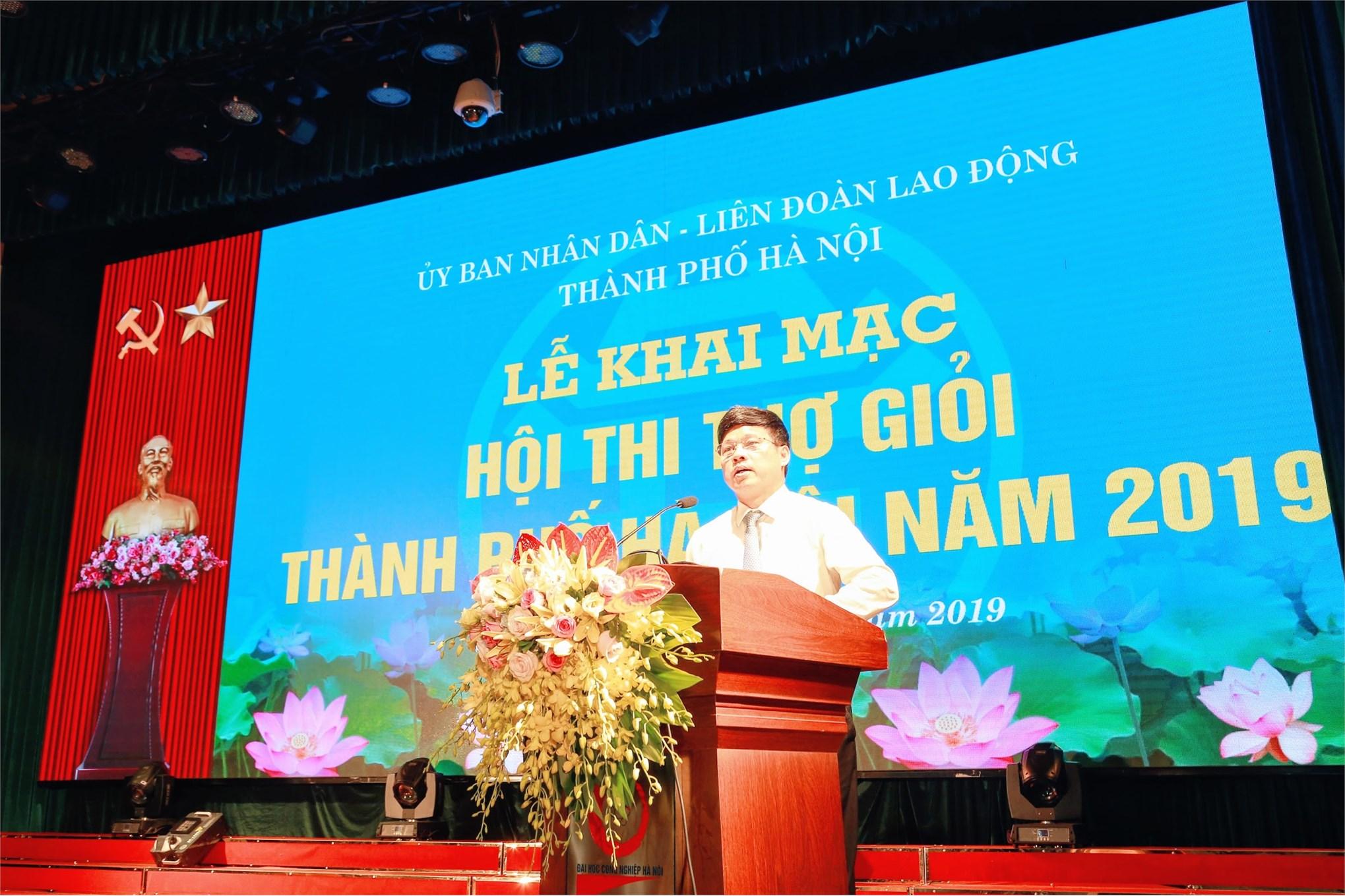 Ông Ngô Văn Quý - Thành uỷ viên, Phó chủ tịch UBND thành phố Hà Nội - Trưởng ban tổ chức