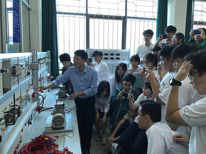 Học tập và trải nhiệm liên môn thú vị tại Trường Đại học Công nghiệp Hà Nội