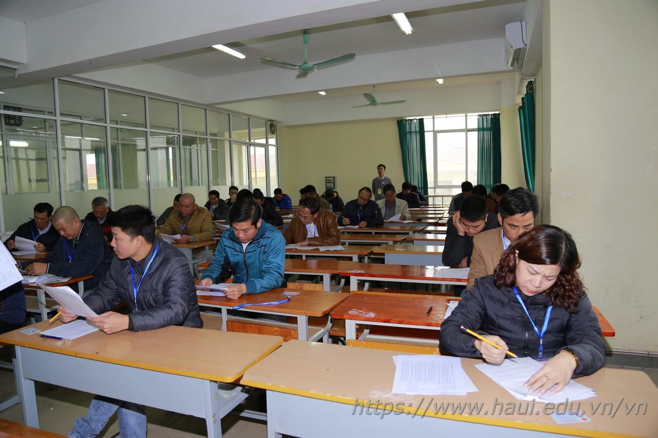 Khai mạc Kỳ đánh giá kỹ năng nghề Quốc gia năm 2018, nghề Công nghệ Ô tô tại Trường Đại học Công nghiệp Hà Nội
