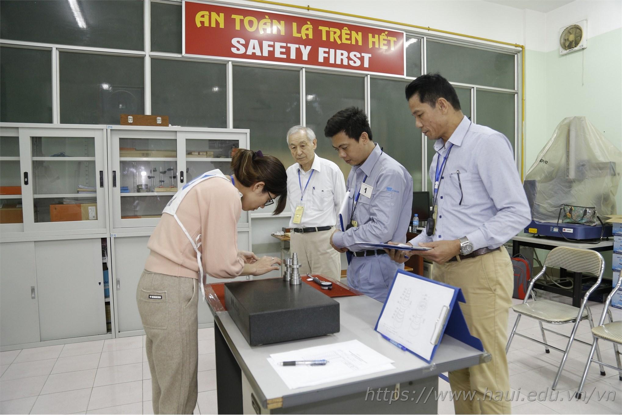 Khai mạc kỳ đánh giá thí điểm nghề Đo kiểm cơ khí bậc trình độ 3 theo tiêu chuẩn Nhật Bản