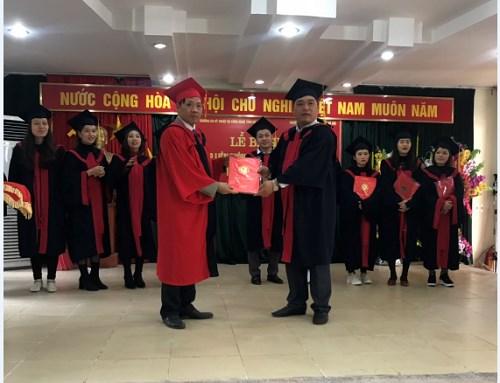 Bế giảng và trao bằng tốt nghiệp đại học vừa làm vừa học tại Hà Giang