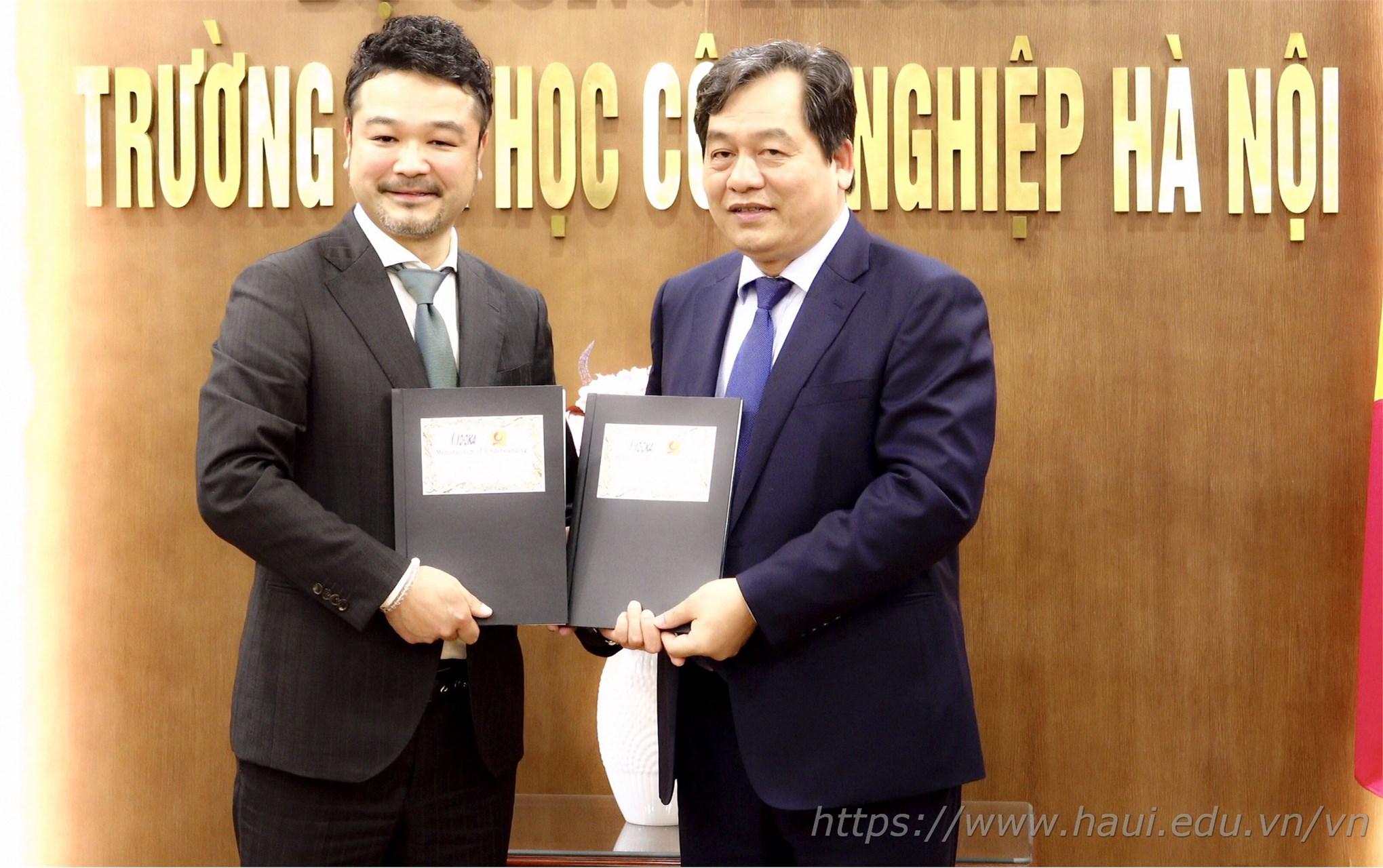 Signing a Memorandum of Understanding with O-OKA Corporation, Japan