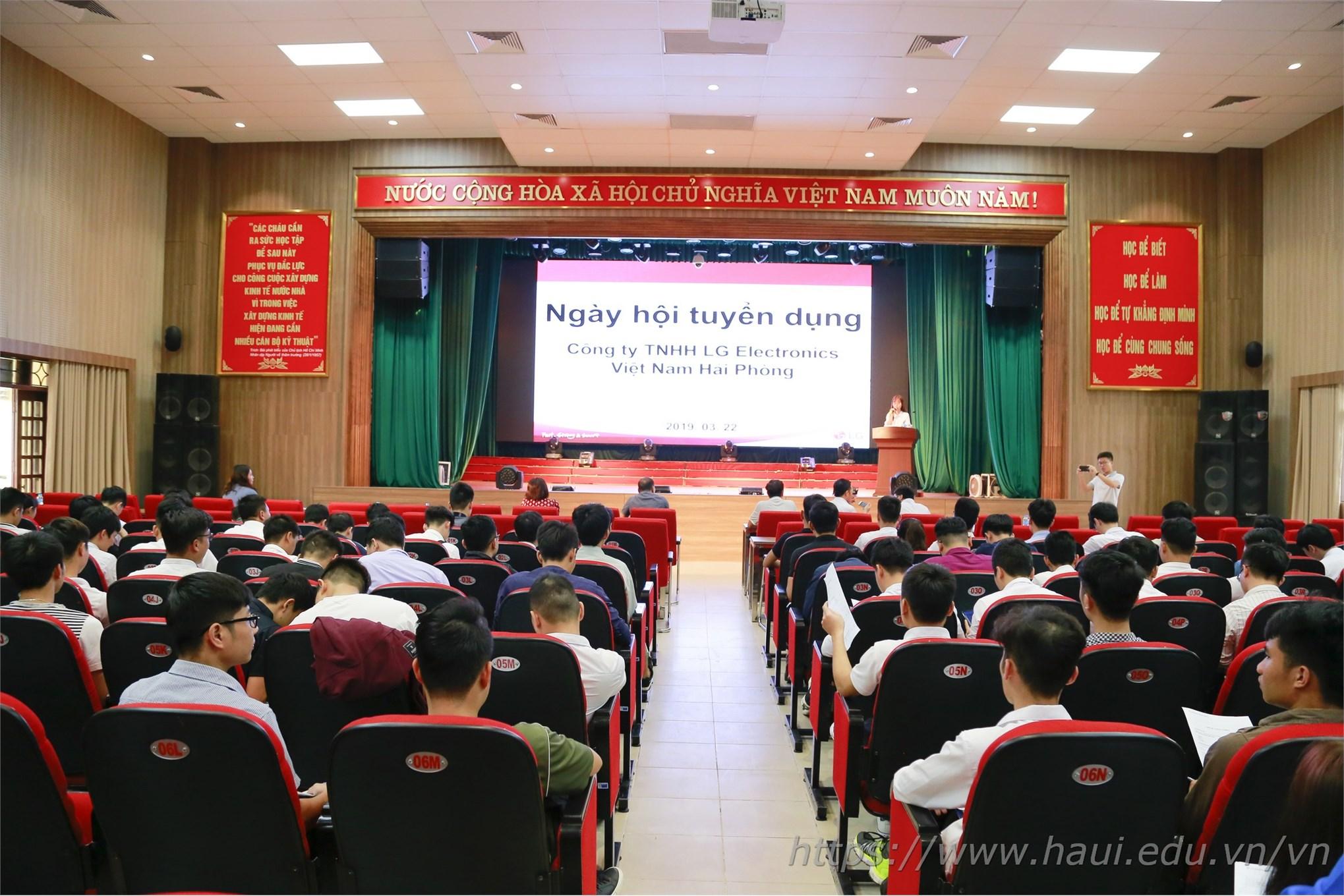 Cơ hội việc làm tại Công ty TNHH LG Electronics Việt Nam Hải Phòng