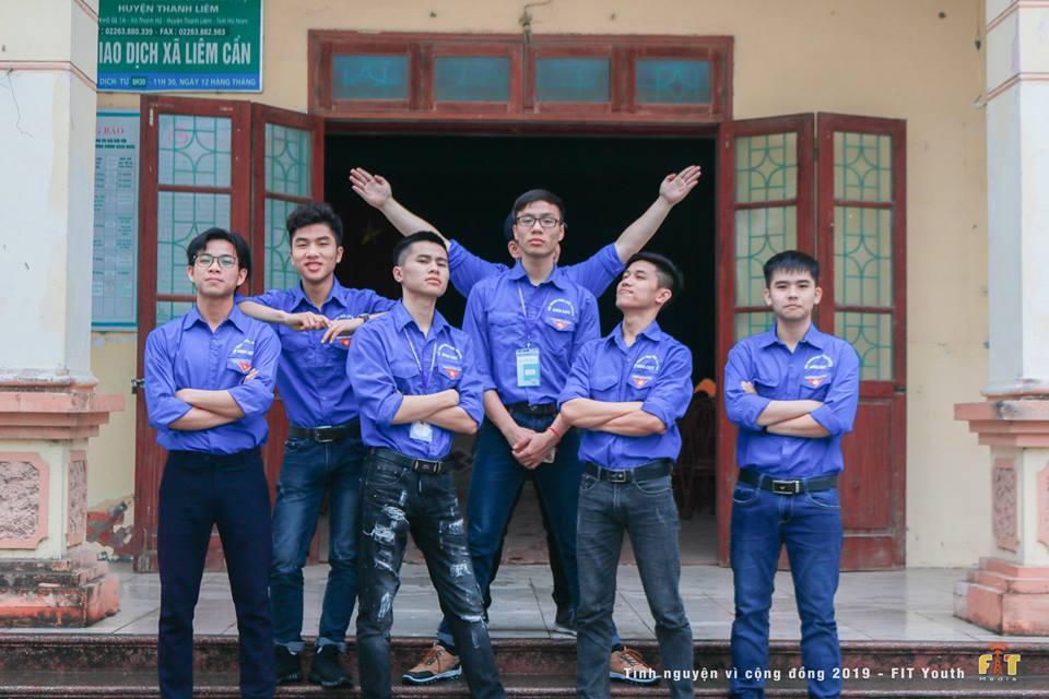 Tuổi trẻ khoa Công nghệ thông tin tình nguyện vì cuộc sống cộng đồng