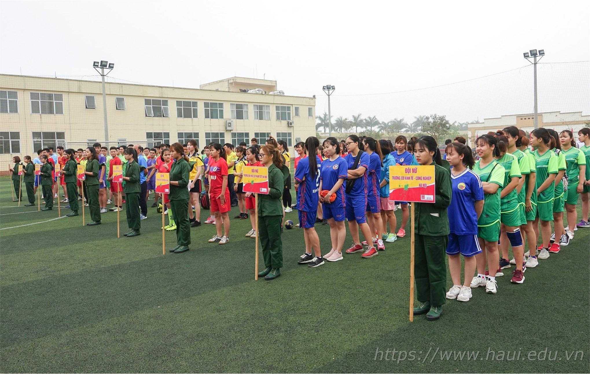 Giải vô địch Bóng ném sinh viên Hà Nội mở rộng 2019