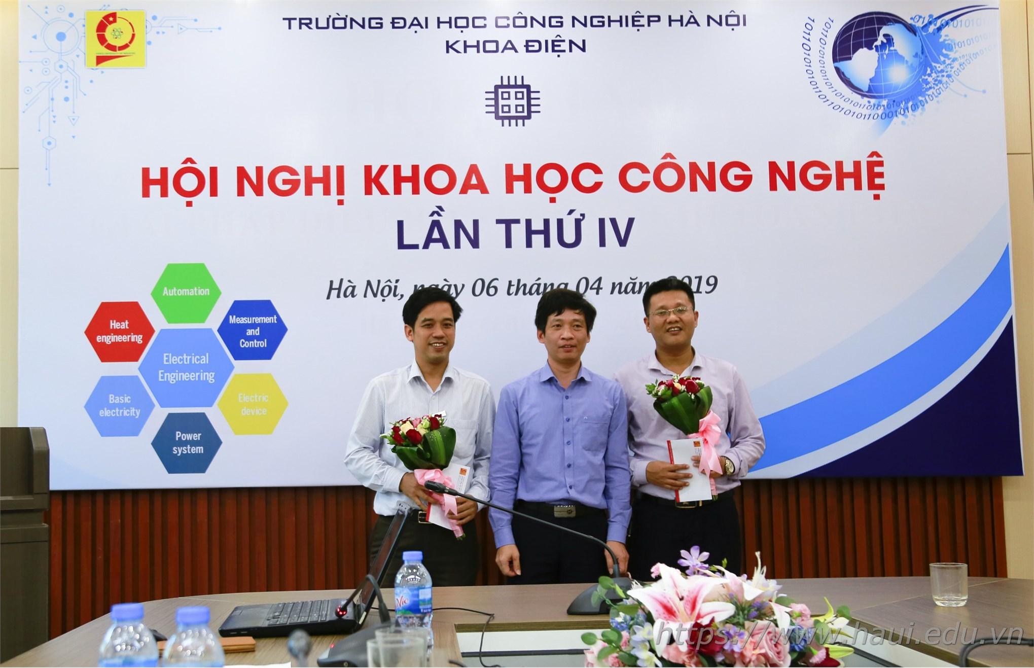 Hội nghị Khoa học Công nghệ khoa Điện lần thứ IV