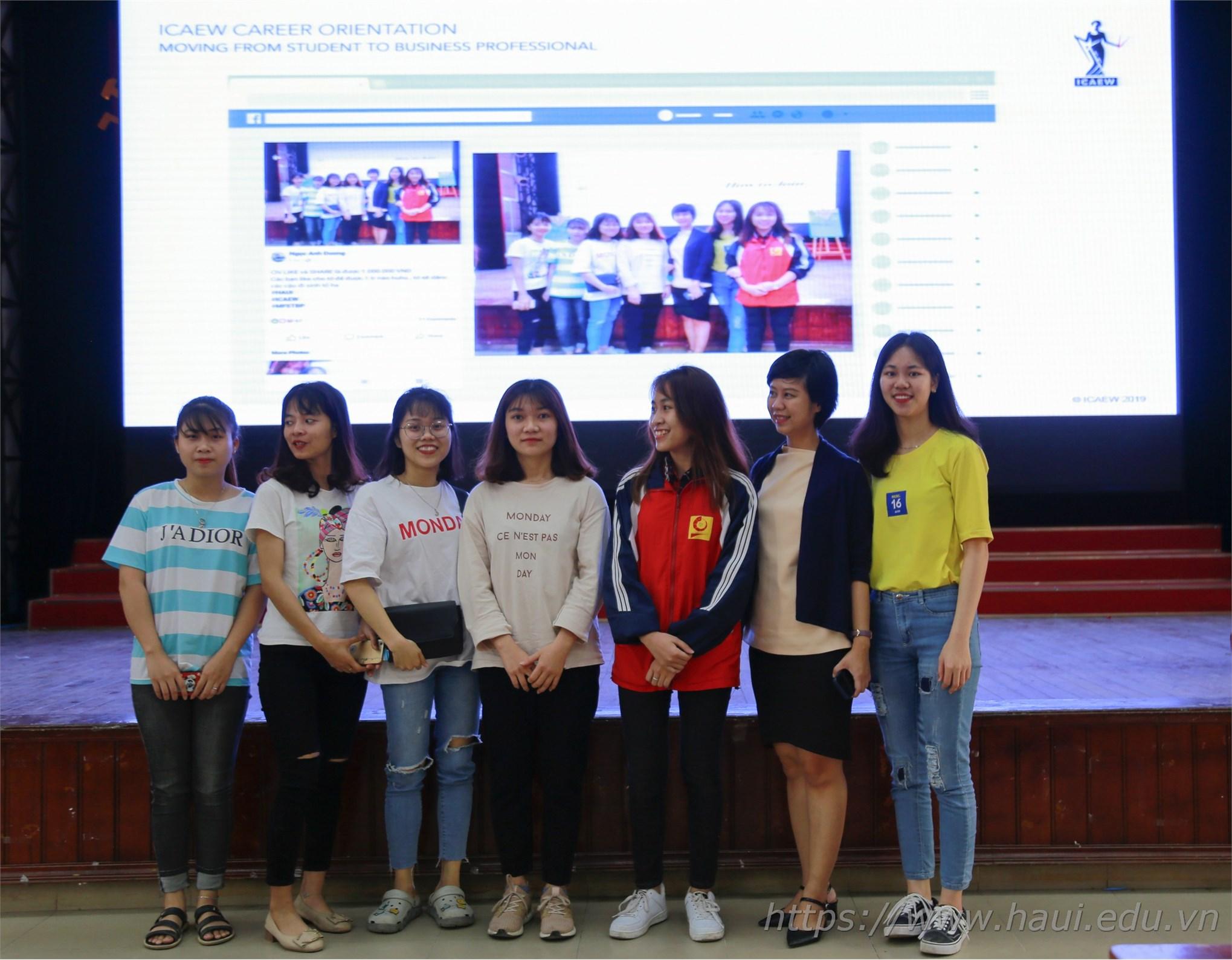 Hội thảo định hướng nghề nghiệp cho sinh viên ngành Kế toán Kiểm toán