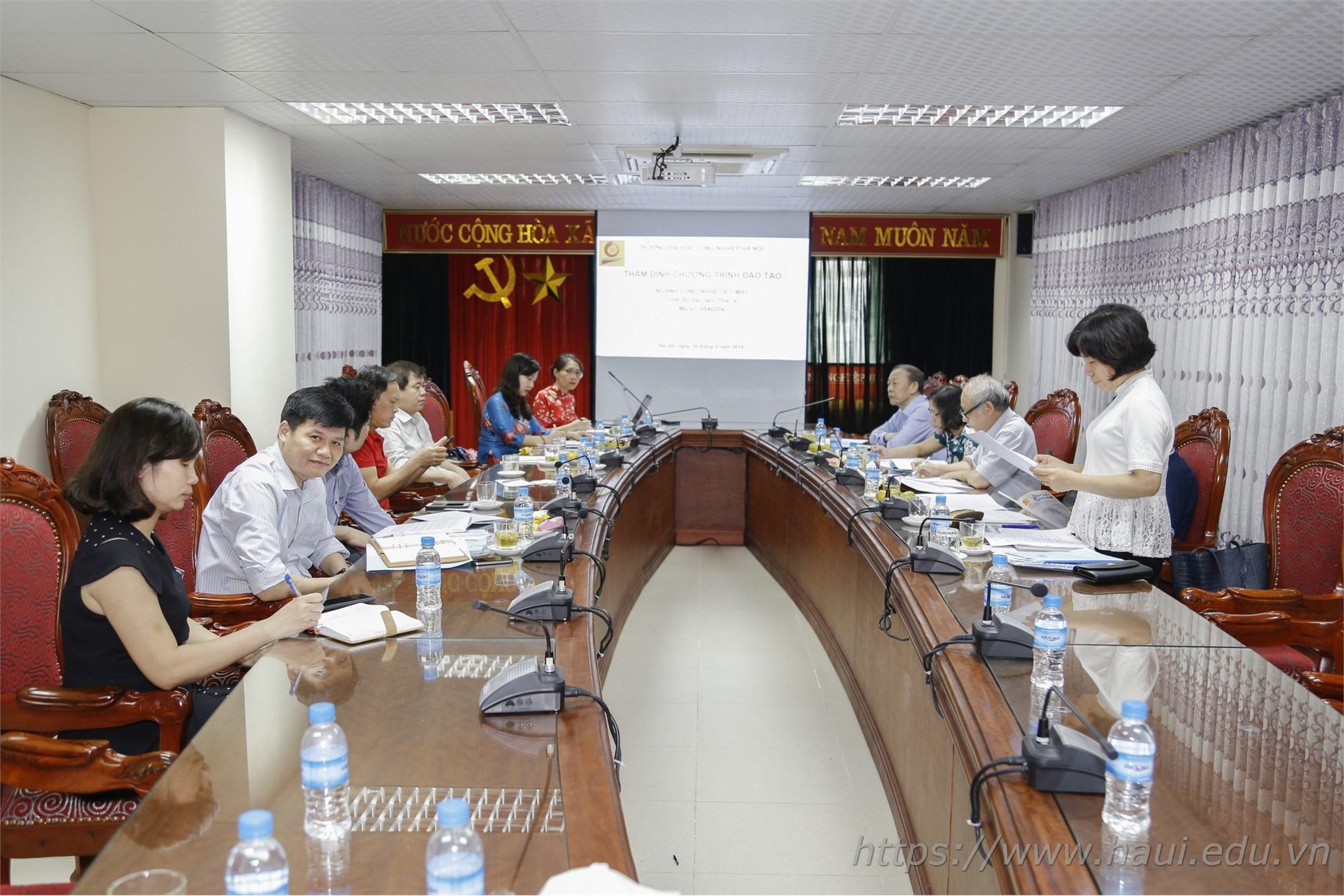 Trường Đại học Công nghiệp Hà Nội mở ngành đào tạo trình độ thạc sĩ ngành Công nghệ dệt, may