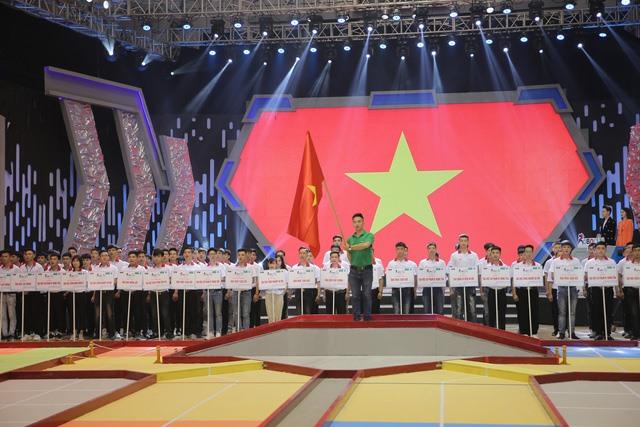 32 đội tuyển tham dự lễ khai mạc vòng chung kết