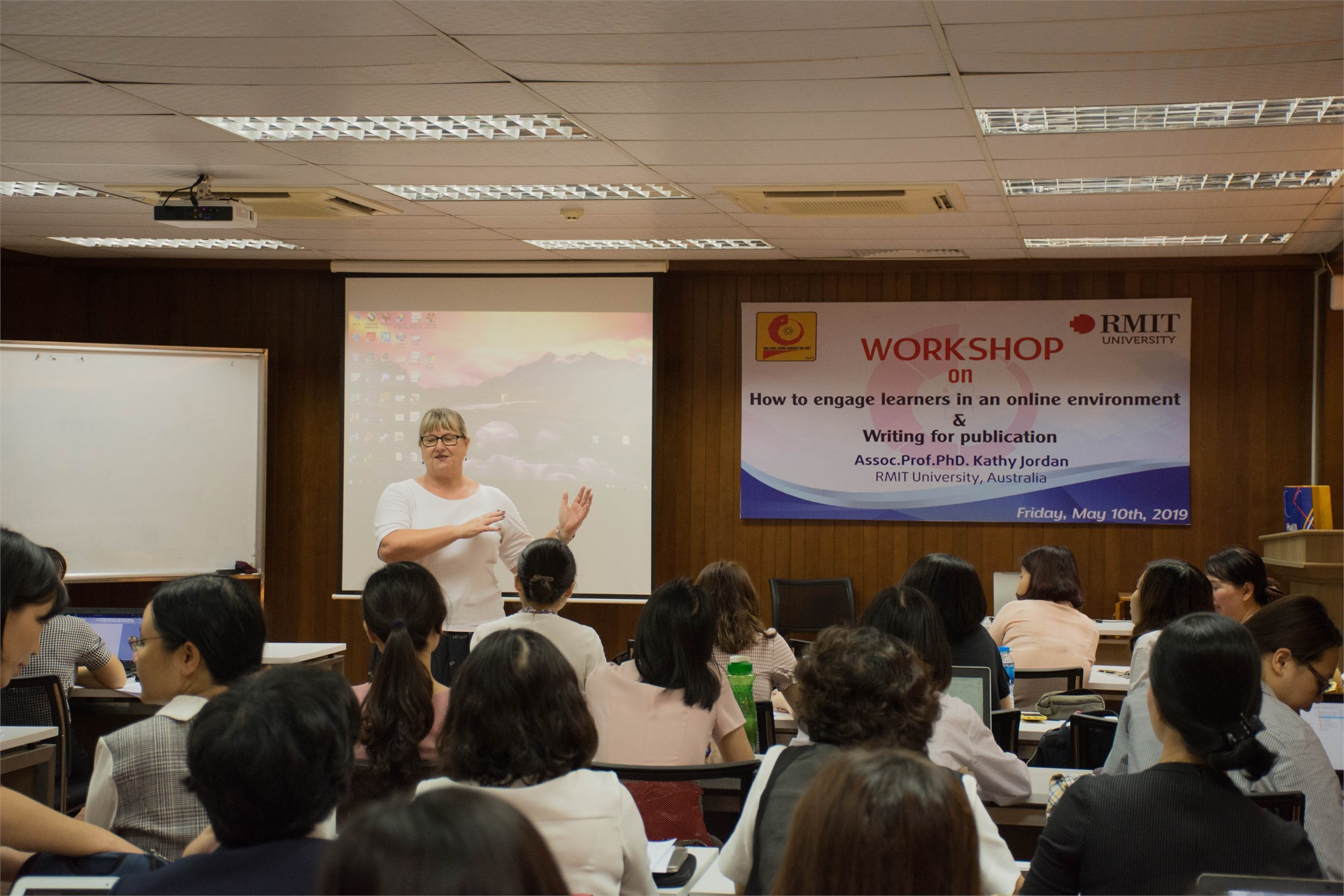 Hội thảo về phương pháp giảng dạy và nghiên cứu khoa học 2019