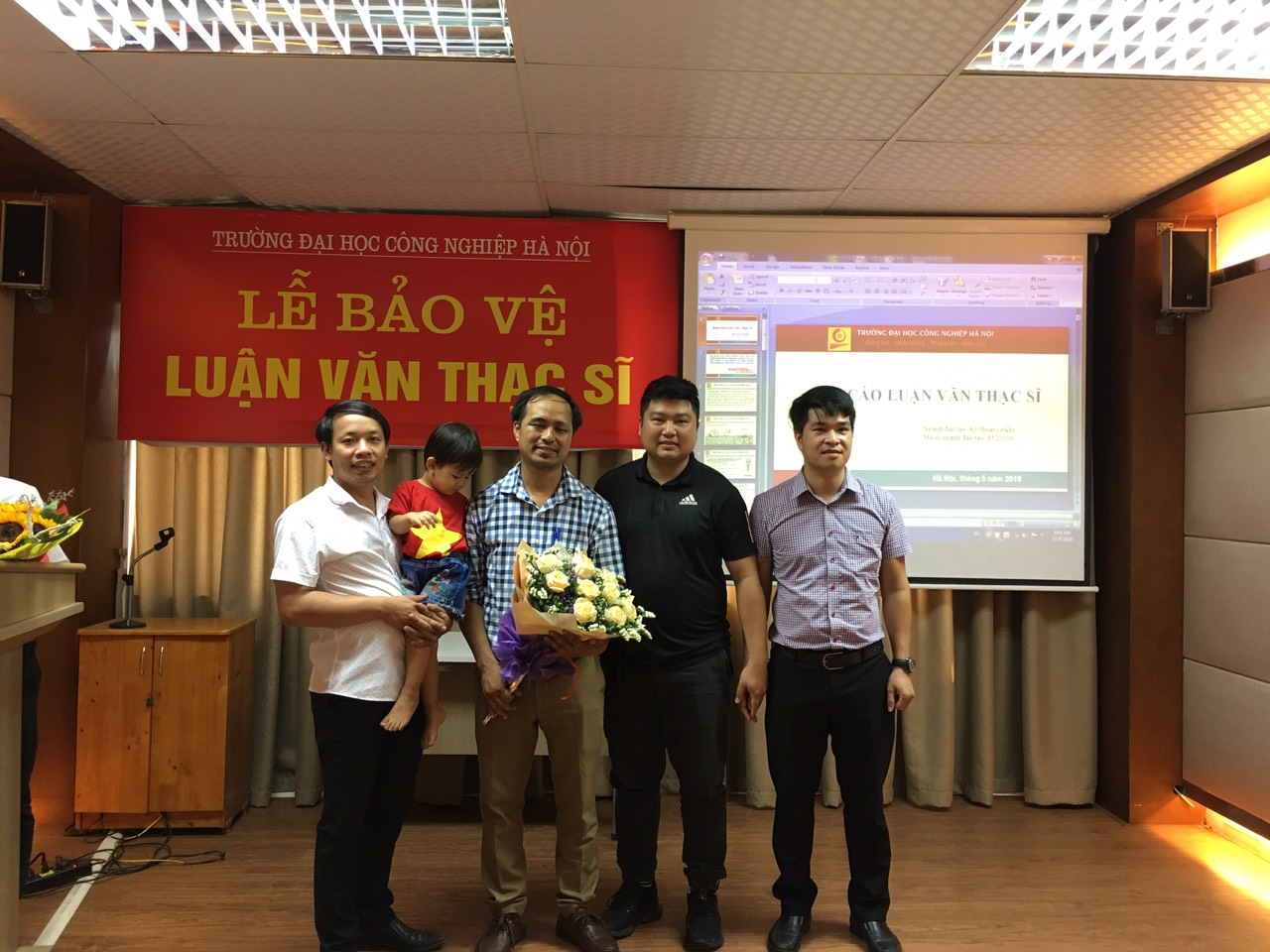 Lễ bảo vệ luận văn thạc sĩ chuyên ngành CNKT Cơ khí khóa 7 năm 2019