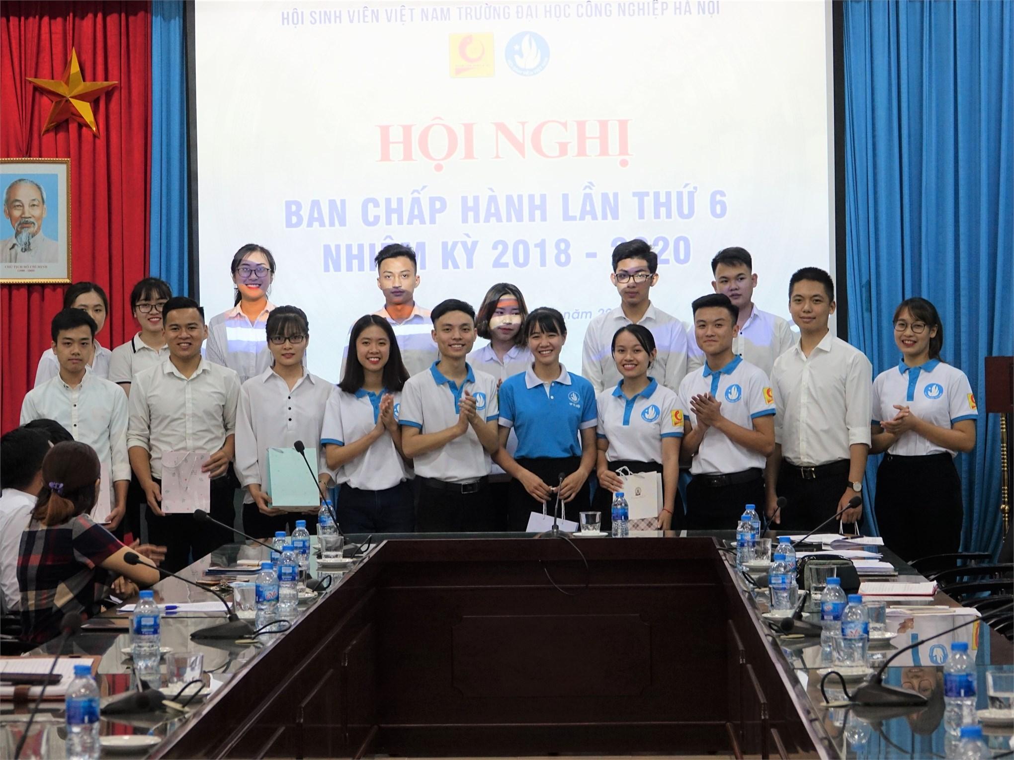 Hội nghị kiện toàn Ban Chấp hành, Ban Kiểm tra và các chức danh chủ chốt Hội Sinh viên trường khóa VII, nhiệm kỳ 2018 – 2020