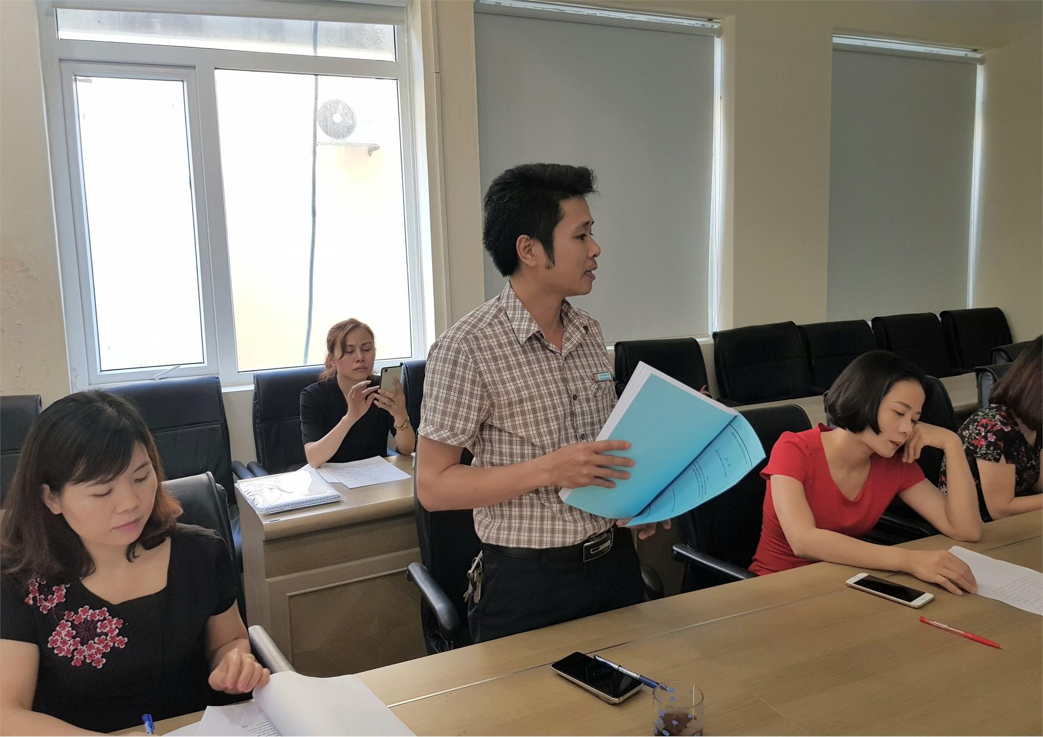 Nghiệm thu cấp cơ sở `Tích hợp giáo dục đạo đức nghề nghiệp vào dạy học môn Lý luận chính trị cho sinh viên Trường Đại học Công nghiệp Hà Nội`