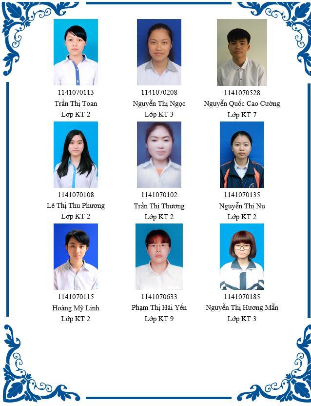Vinh danh sinh viên đạt thành tích tốt trong học tập và rèn luyện Khóa 11-Học kỳ 1 năm học 2018-2019