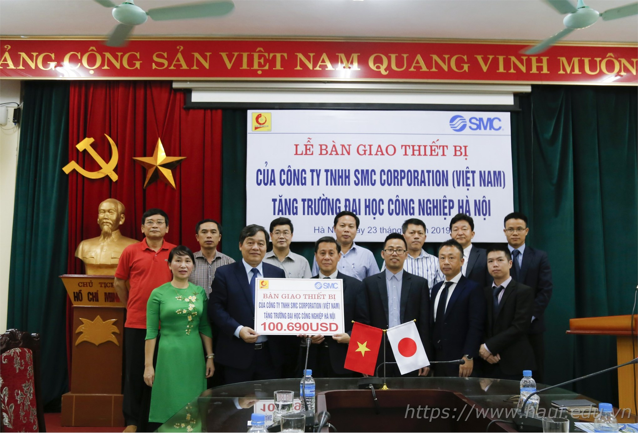 Đại học Công nghiệp Hà Nội đưa vào hoạt động Phòng thí nghiệm kỹ thuật khí nén trị giá 2,3 tỷ đồng
