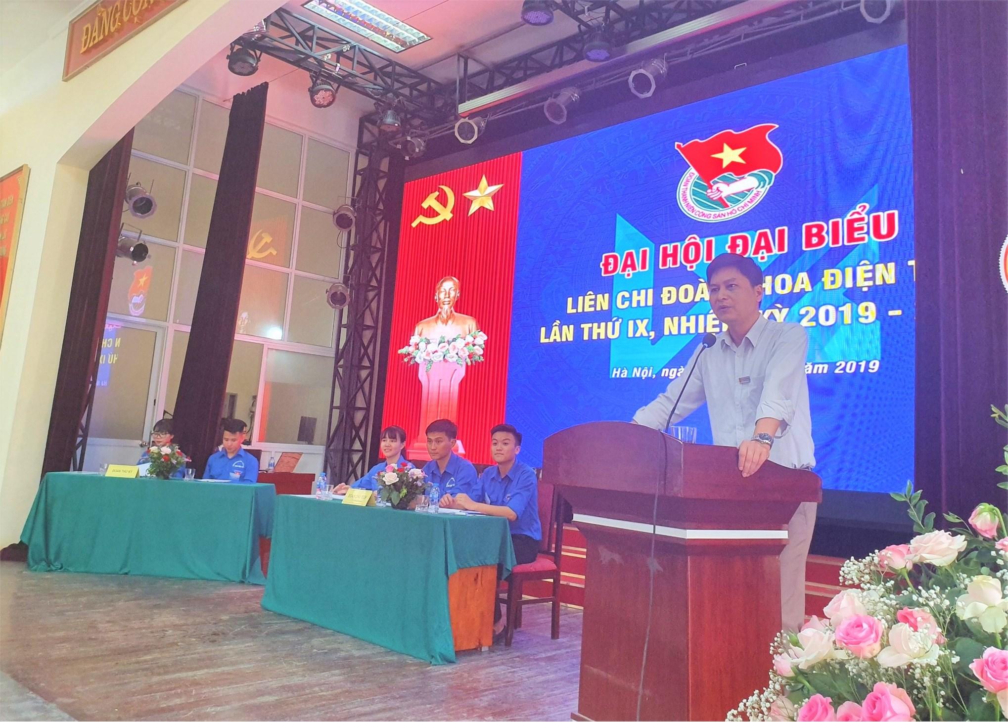 Đại hội đại biểu Liên chi đoàn khoa Điện tử lần thứ IX, nhiệm kỳ 2019 – 2022