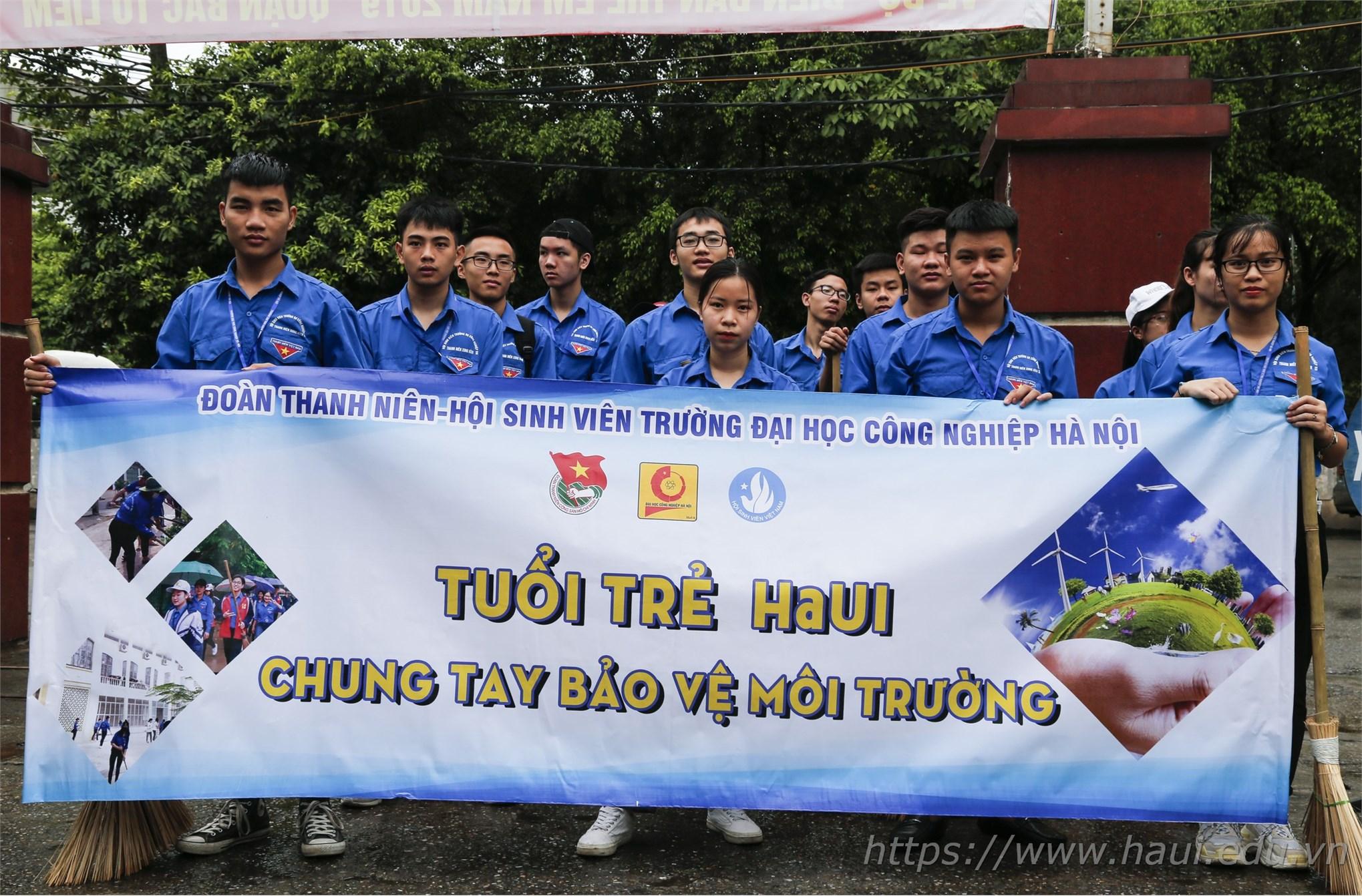 Tuổi trẻ Đại học Công nghiệp Hà Nội ra quân chiến dịch tình nguyện Hè 2019