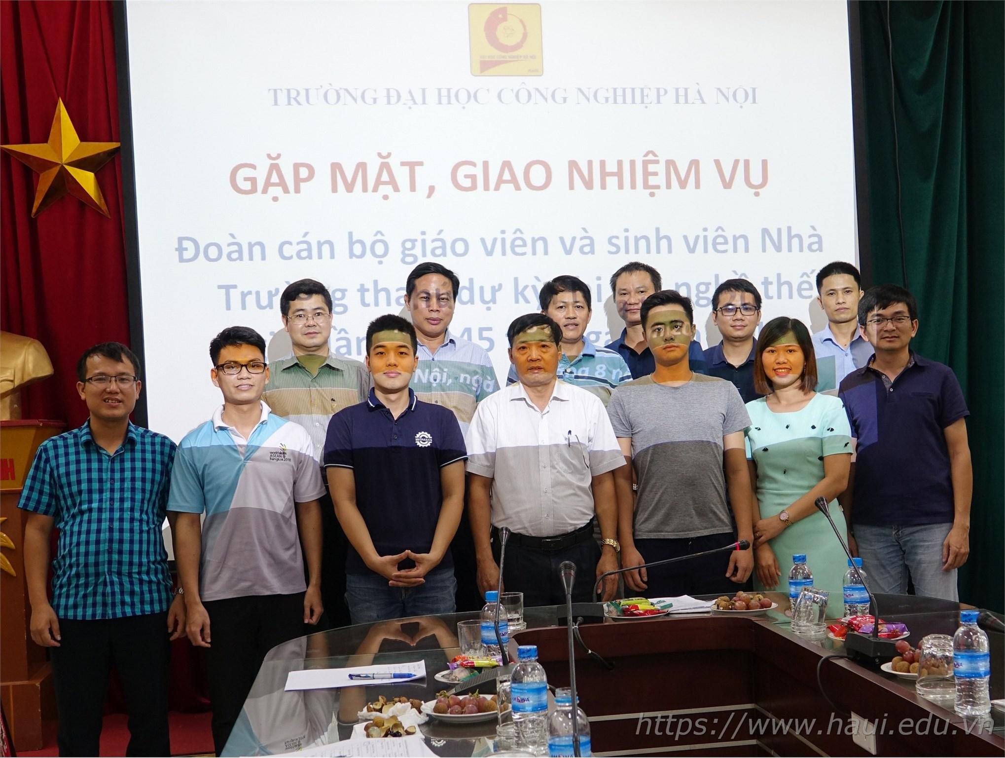 Đại học Công nghiệp Hà Nội tham dự kỳ thi tay nghề thế giới năm 2019