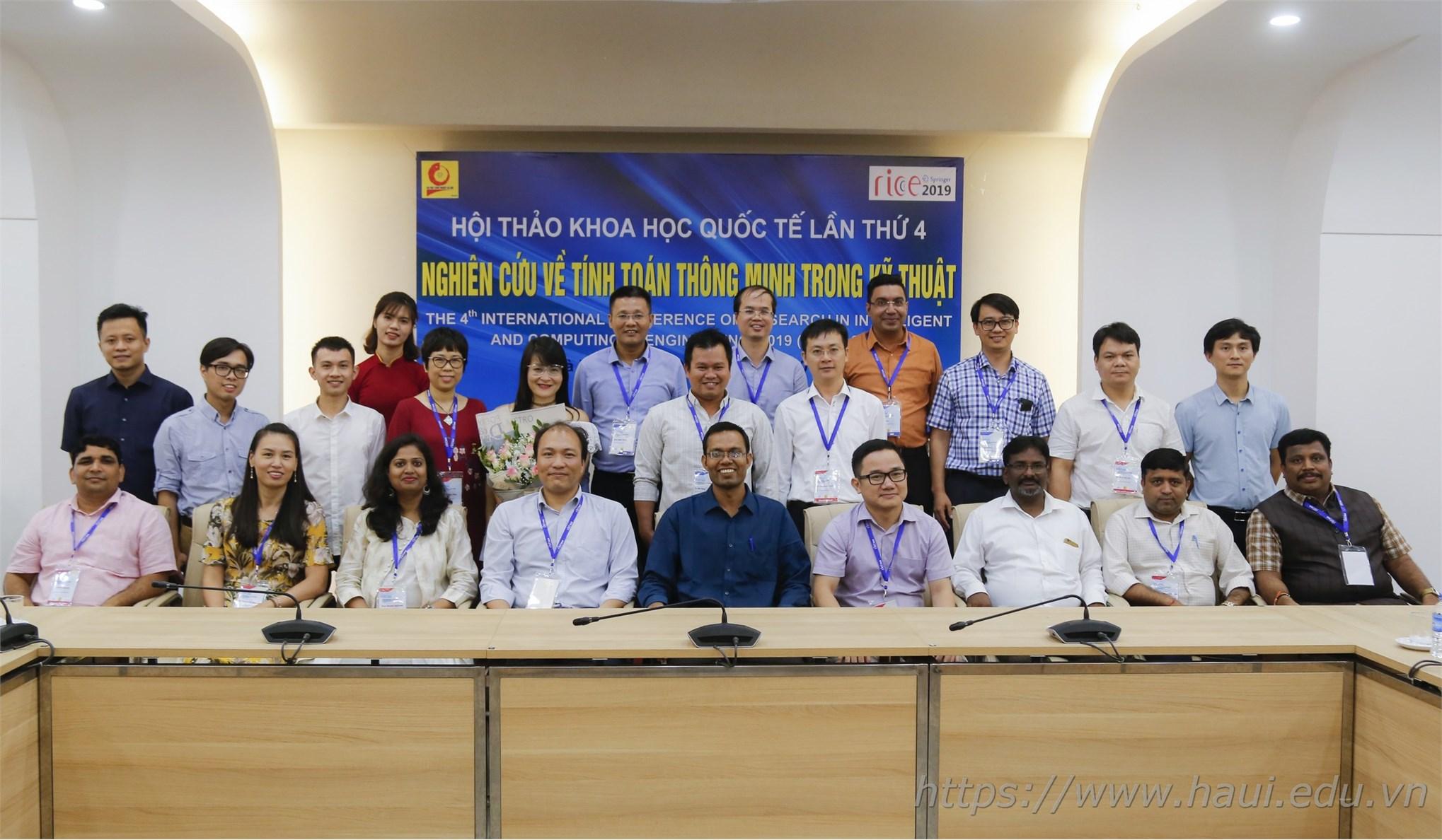 Hội thảo khoa học quốc tế lần thứ 4 Nghiên cứu về tính toán thông minh trong kỹ thuật (RICE 2019)