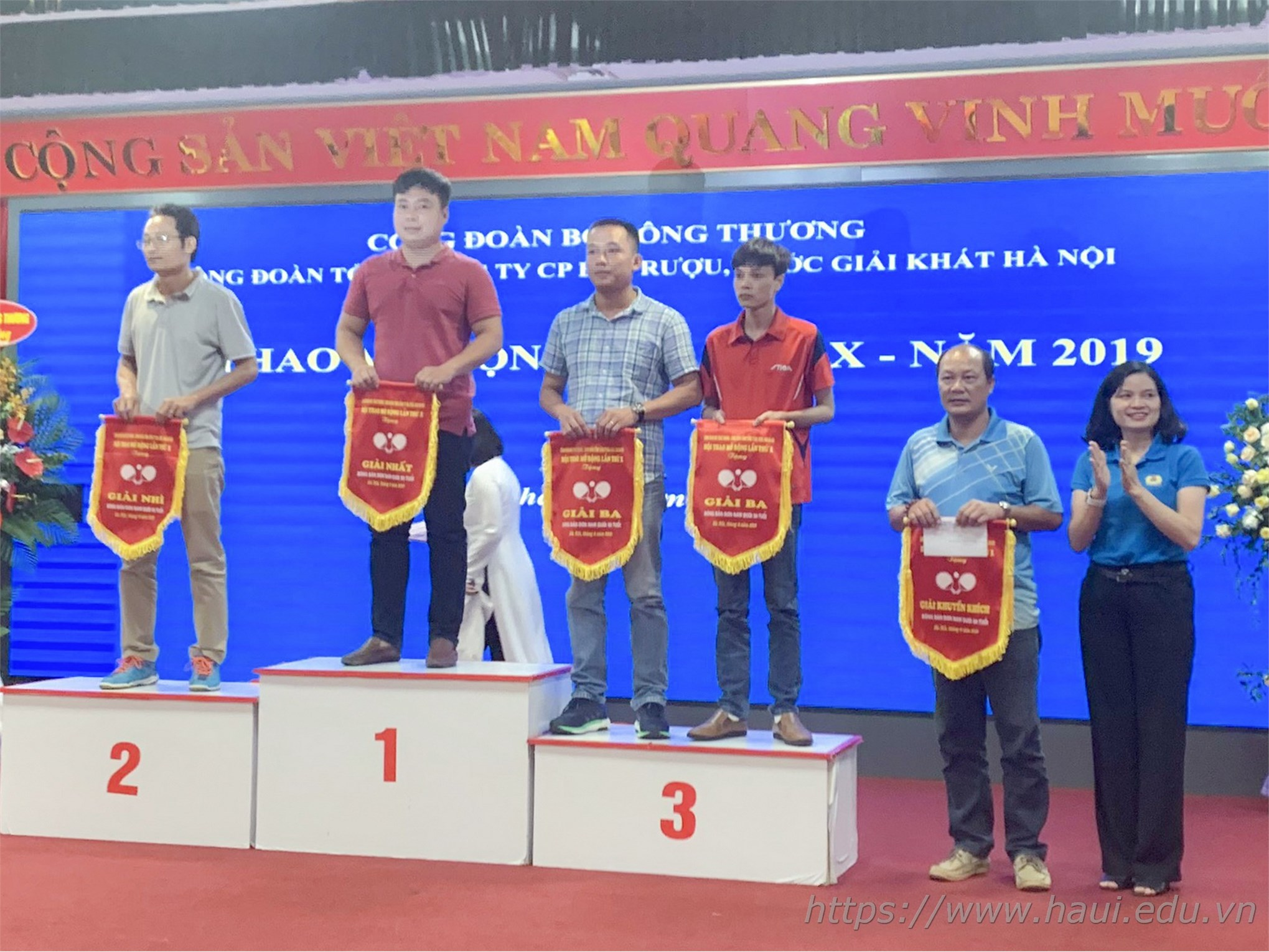 Trường Đại học Công nghiệp Hà Nội tham gia Hội thao Công đoàn Bộ Công Thương 2019
