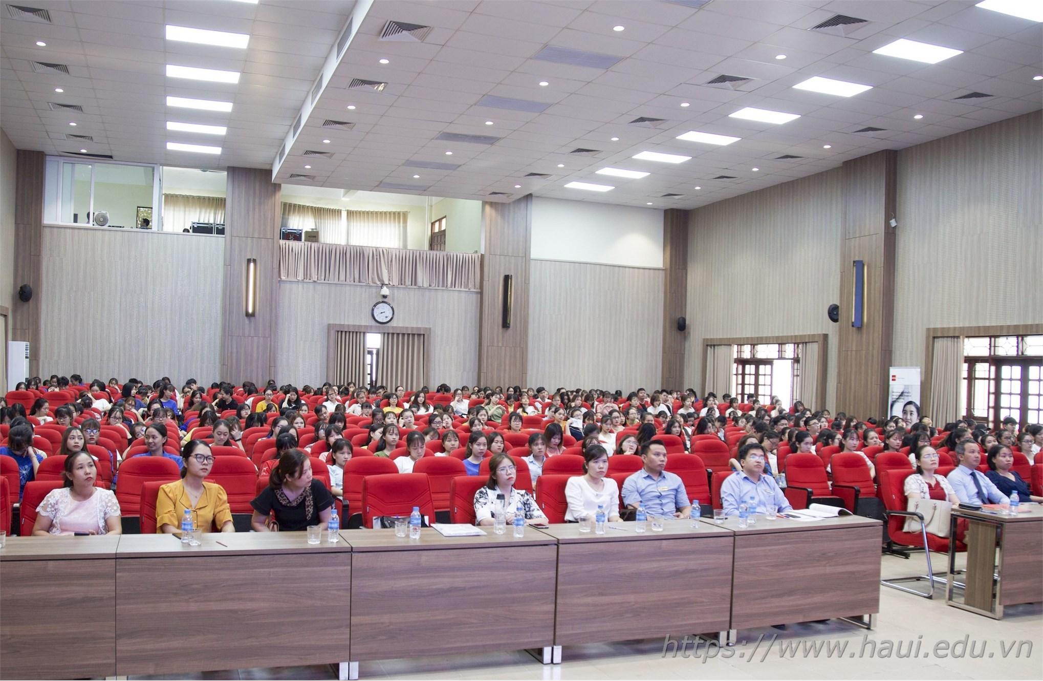 Tọa đàm ngành Kế toán Kiểm toán tại Đại học Công nghiệp Hà Nội