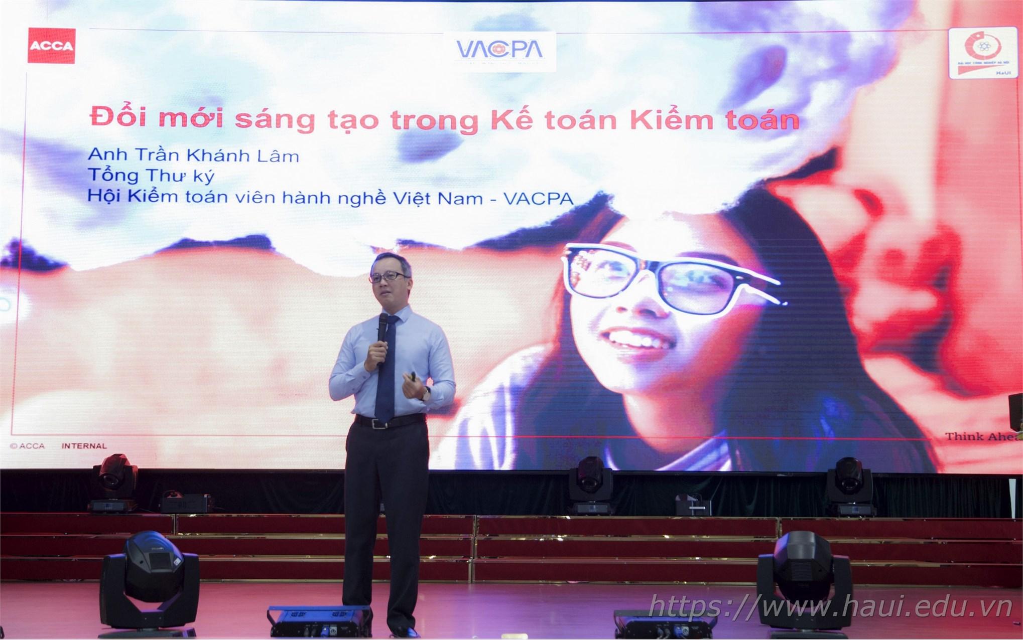 Tọa đàm ngành Kế toán Kiểm toán tại Đại học Công nghiệp Hà Nội năm 2019