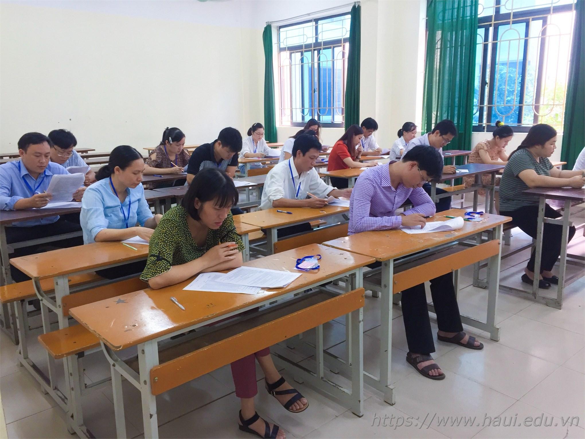 Trường Đại học Công nghiệp Hà Nội tổ chức Kỳ đáng giá Kỹ năng nghề quốc gia năm 2019