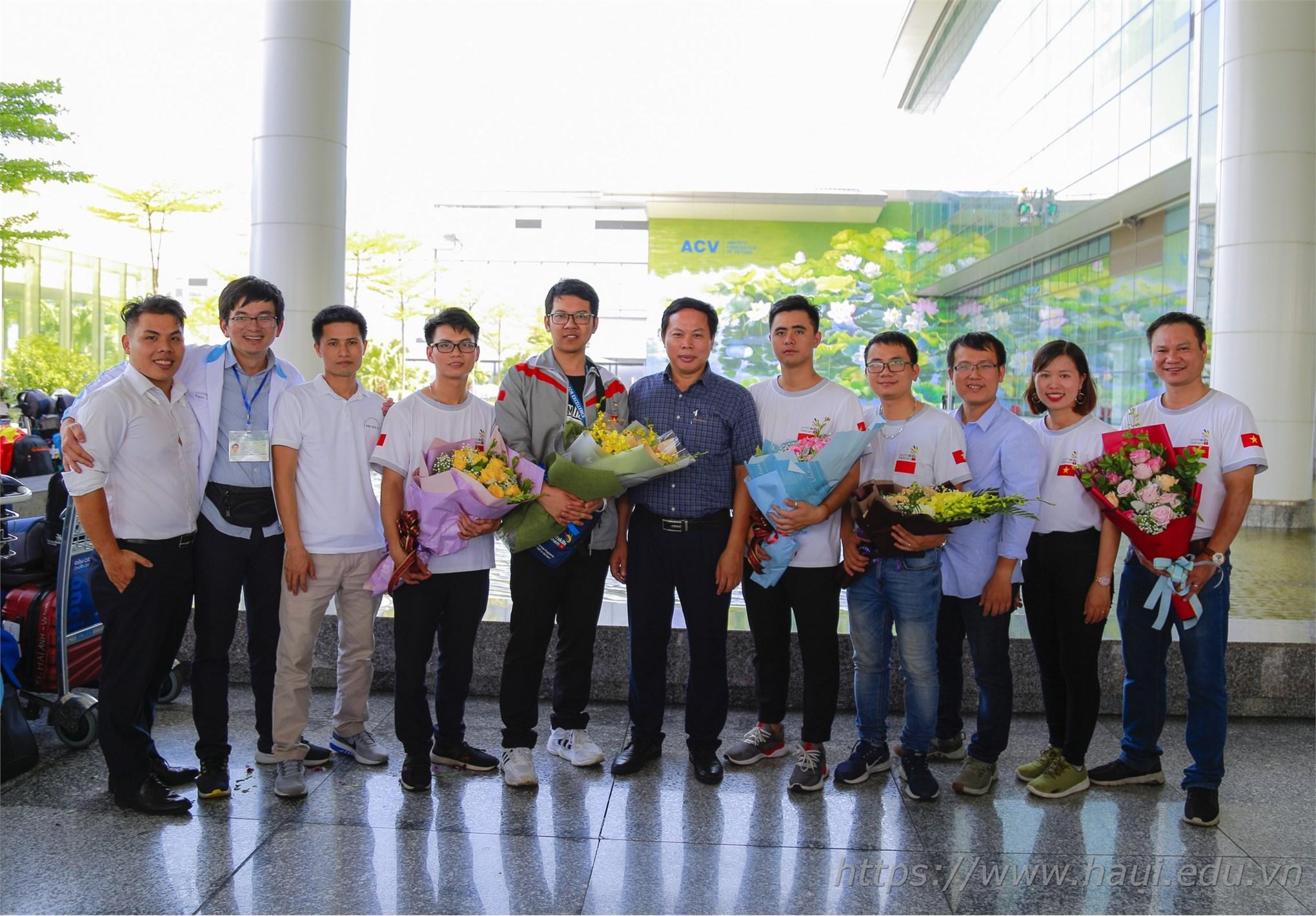 Đại học công nghiệp hà nội tham dự worldskills 2019