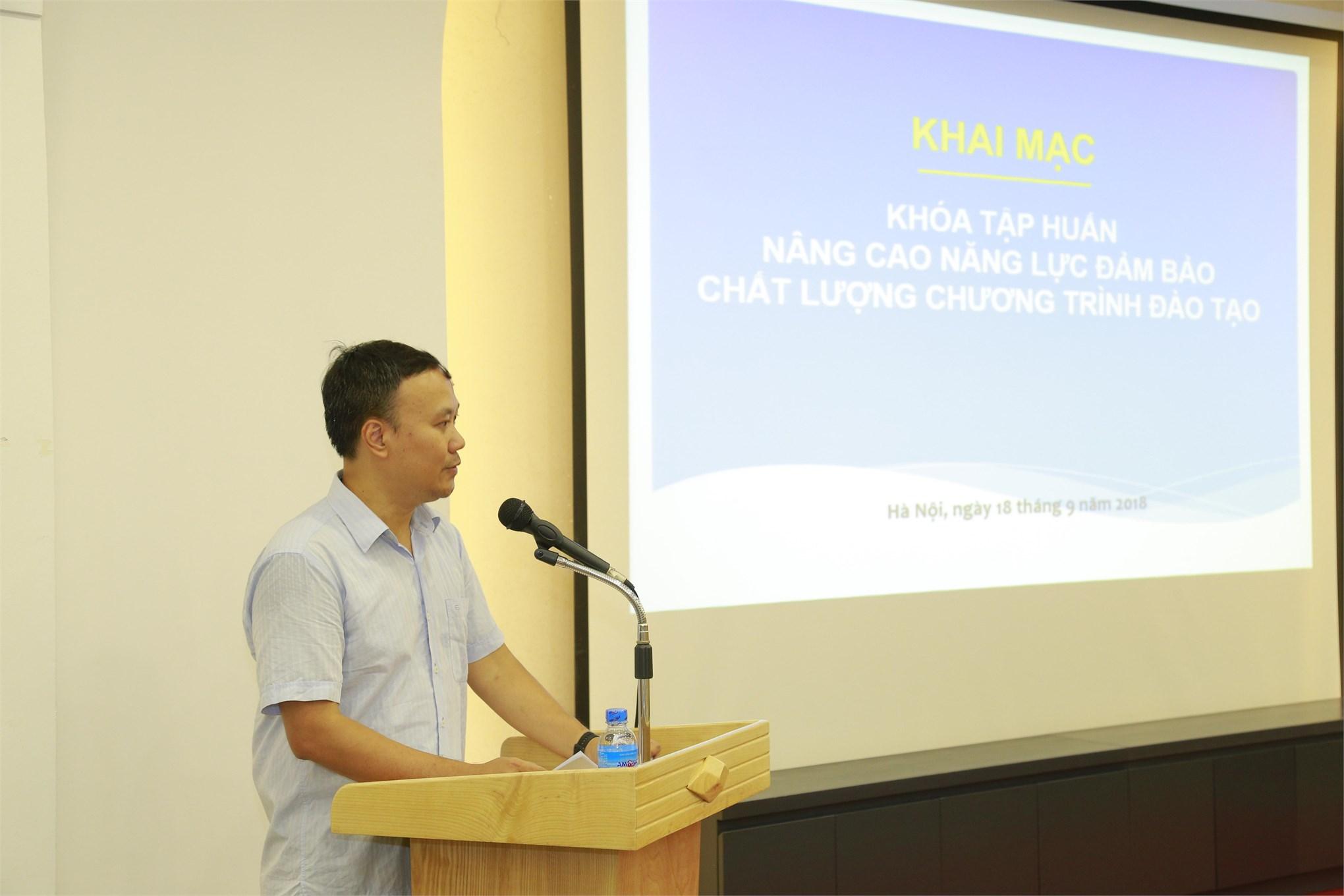 Đại học công nghiệp Hà Nội tập huấn nâng cao năng lực đảm bảo chất lượng đào tạo