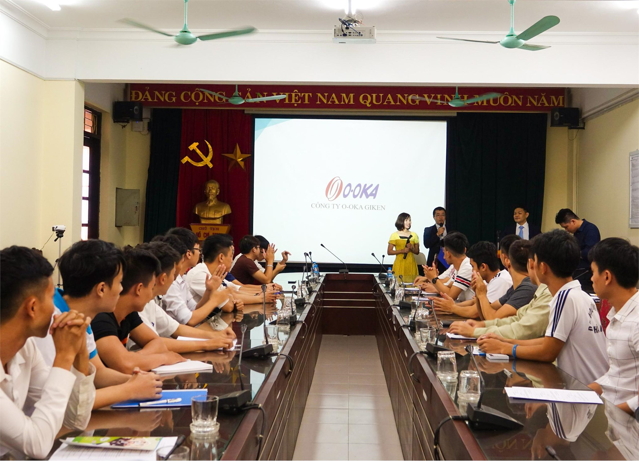 Hội thảo về chương trình đào tạo kỹ sư tài năng cho Công ty O-oka Giken