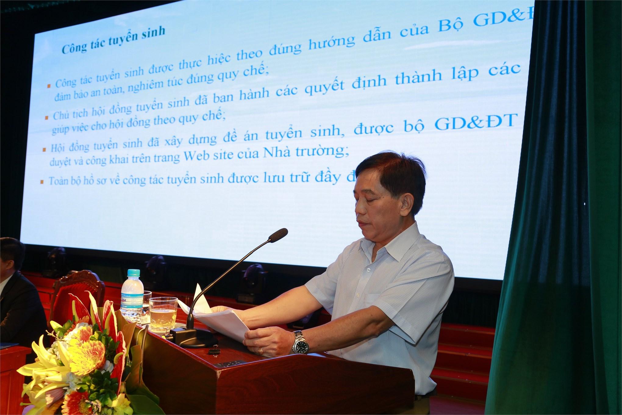 Hội nghị Công chức, viên chức, tổng kết năm học 2018 - 2019 và triển khai nhiệm vụ năm học 2019 – 2020
