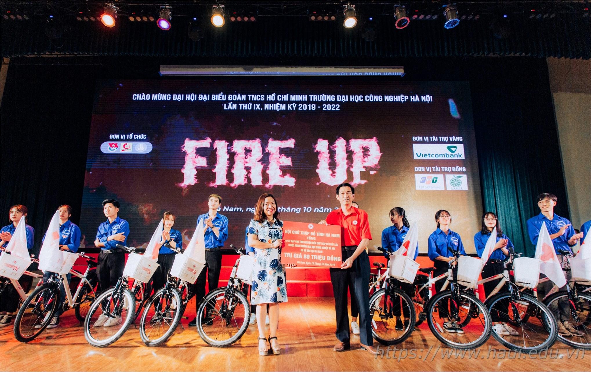 Sôi nổi các hoạt động của Đoàn Thanh niên trường Đại học Công nghiệp Hà Nội