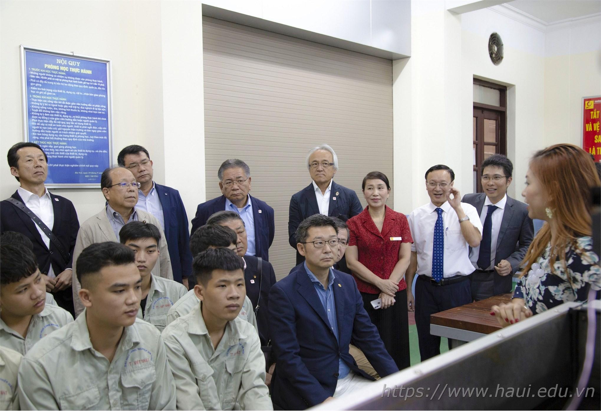 Đại học Công nghiệp Hà Nội mở rộng hợp tác với tỉnh Fukuoka (Nhật Bản)