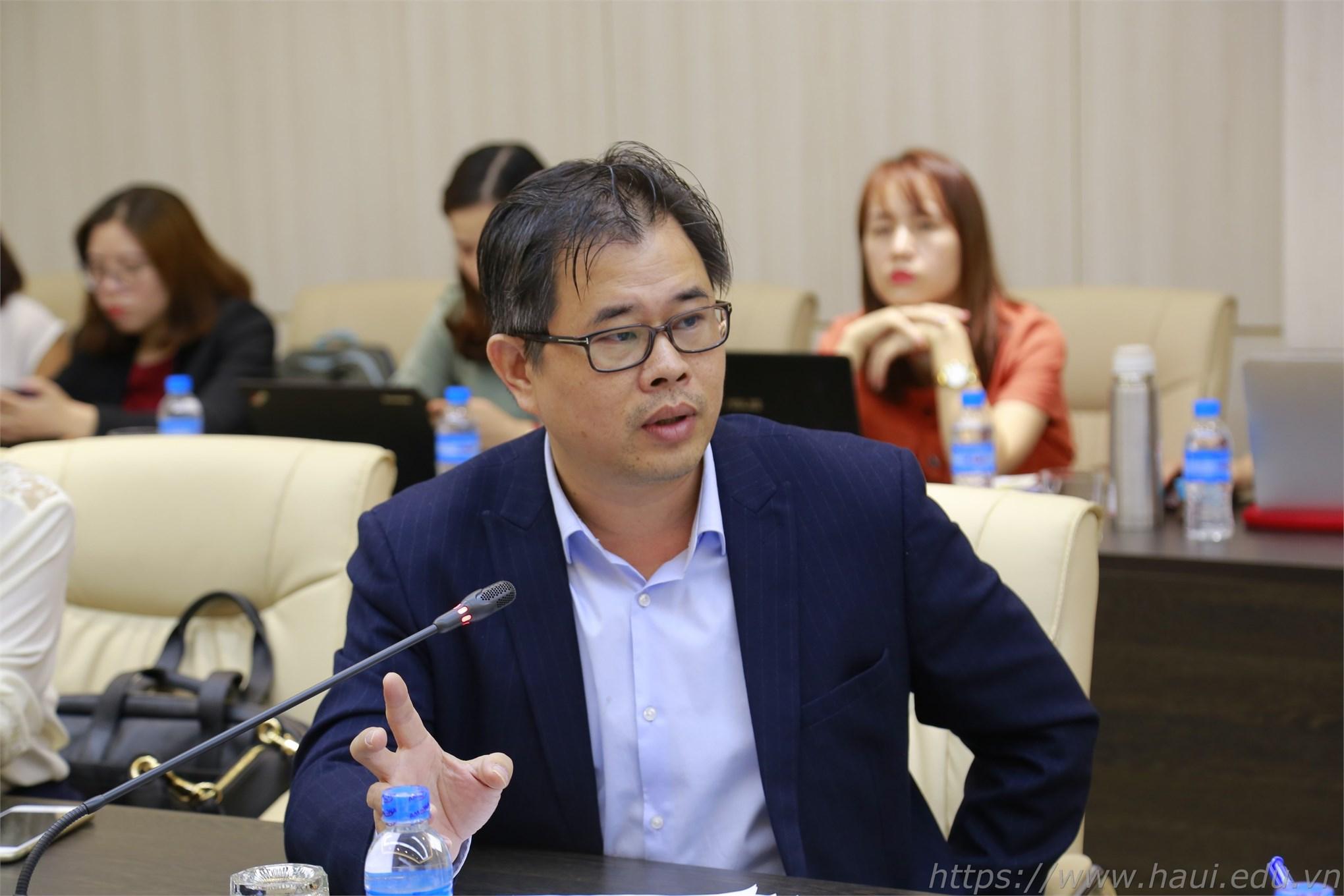 Tọa đàm đổi mới chương trình đào tạo ngành kiểm toán tại Đại học Công nghiệp Hà Nội