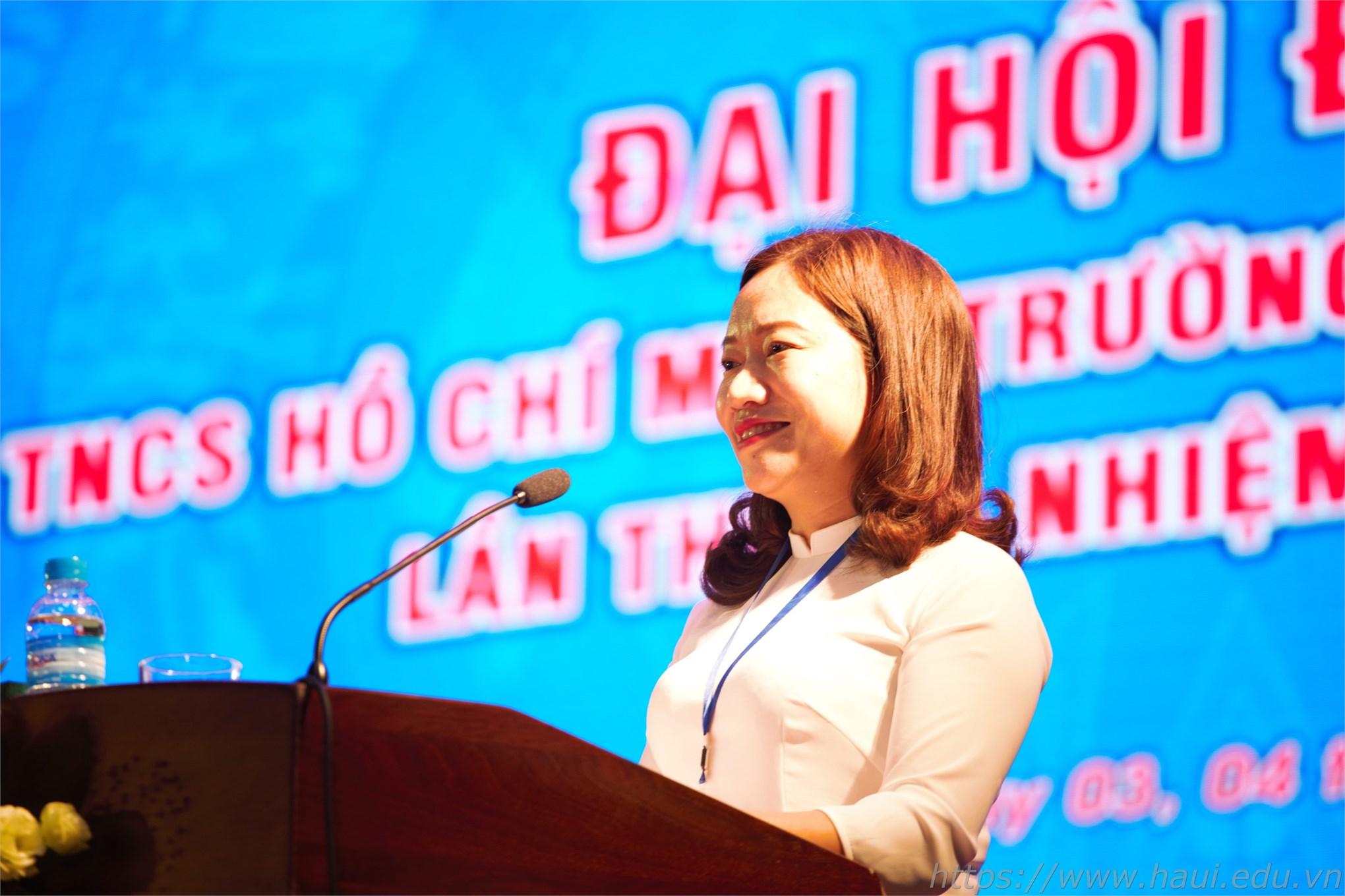 Đồng chí Trương Thị Thanh Hoài tiếp tục giữ chức Bí thư Đoàn TNCS Hồ Chí Minh