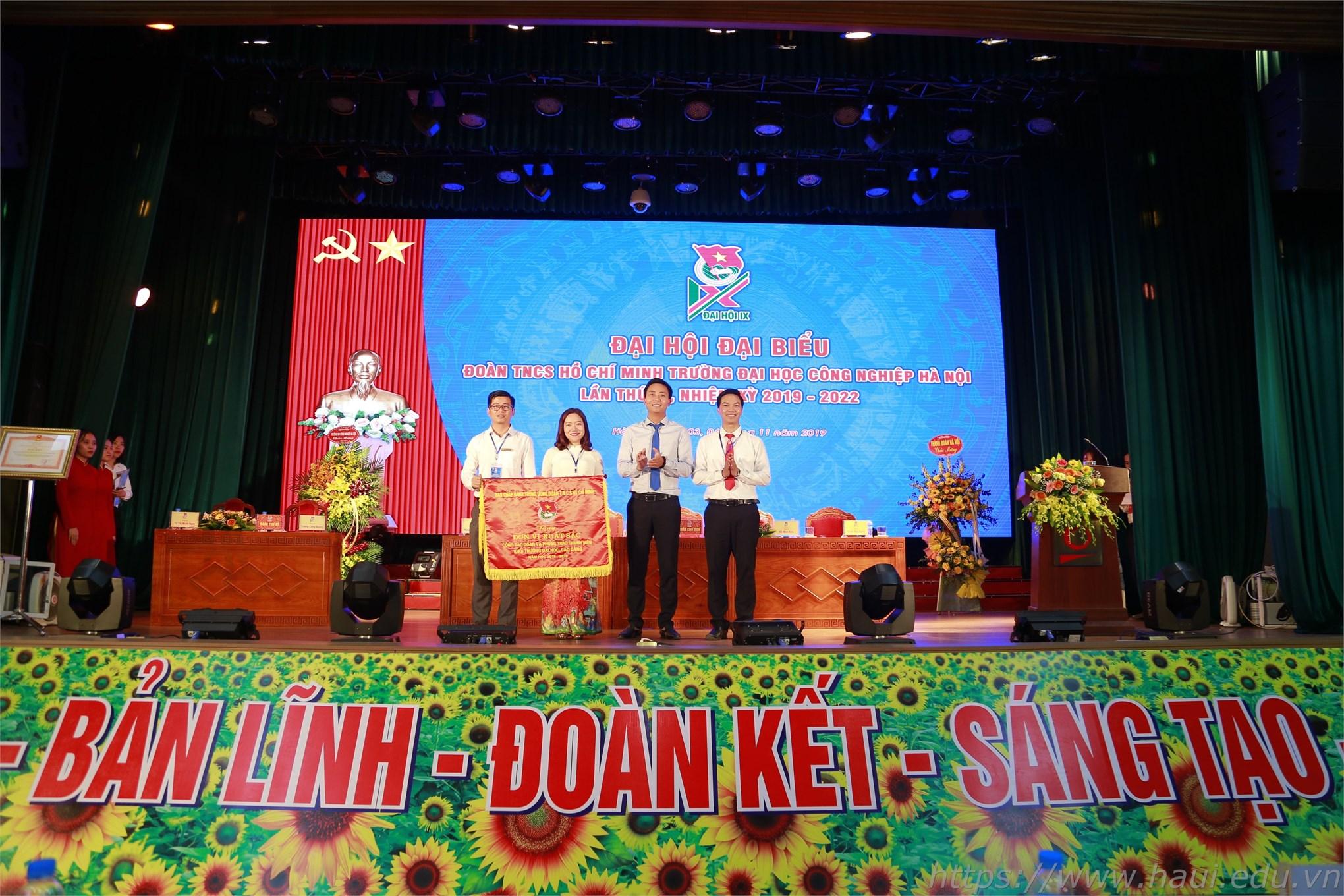 Đại hội đại biểu Đoàn TNCS Hồ Chí Minh trường Đại học Công nghiệp Hà Nội lần thứ IX, nhiệm kỳ 2019 - 2022