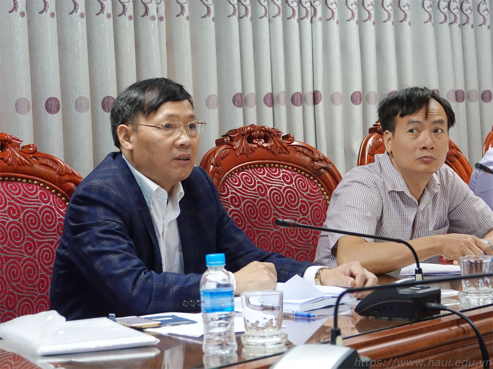 PGS.TS. Phạm Văn Bổng – Phó Hiệu trưởng Nhà trường – Chủ tịch Hội đồng nghiệm thu