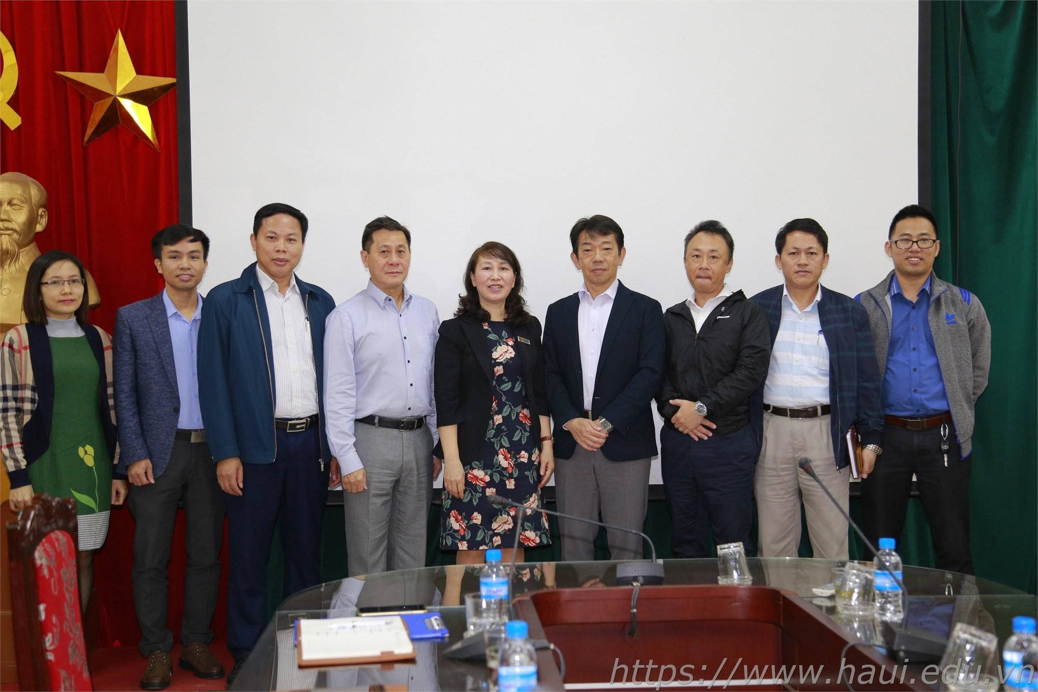 Trường Đại học Công nghiệp Hà Nội làm việc với Công ty TNHH SMC Corporation Việt Nam