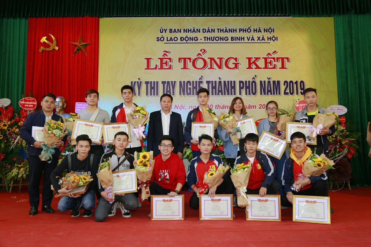 Đại học Công nghiệp Hà Nội đạt 18 Giải tại Kỳ thi tay nghề thành phố năm 2019