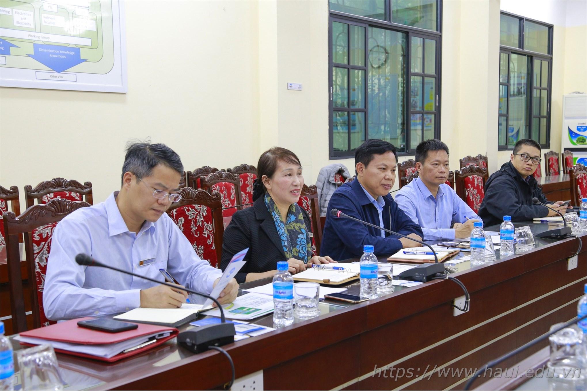 Trường Đại học Công nghiệp Hà Nội đón tiếp đoàn đại biểu tỉnh Aomori Nhật Bản
