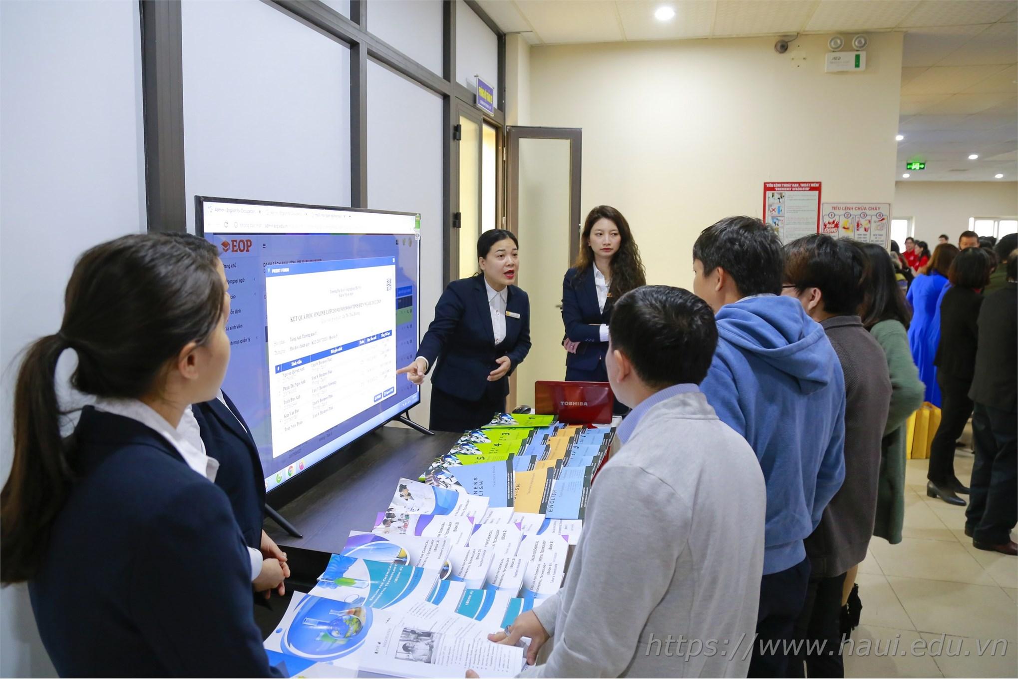 Đại học Công nghiệp Hà Nội chuyển giao chương trình đào tạo tiếng Anh nghề nghiệp cho 27 trường đại học, cao đẳng