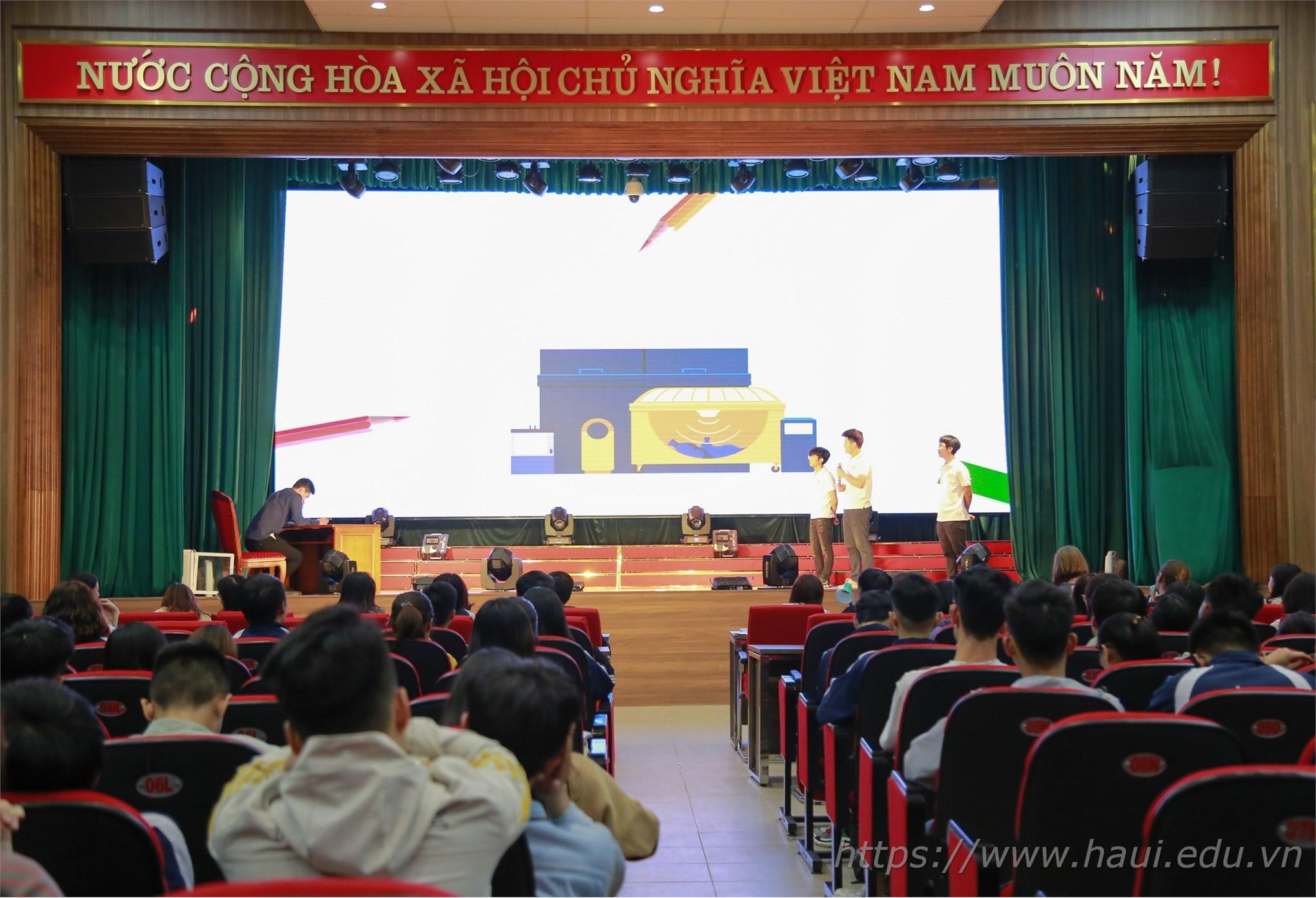 Chung kết cuộc thi Sinh viên yêu thích tiếng Anh Let's go 2019 - ĐHCNHN