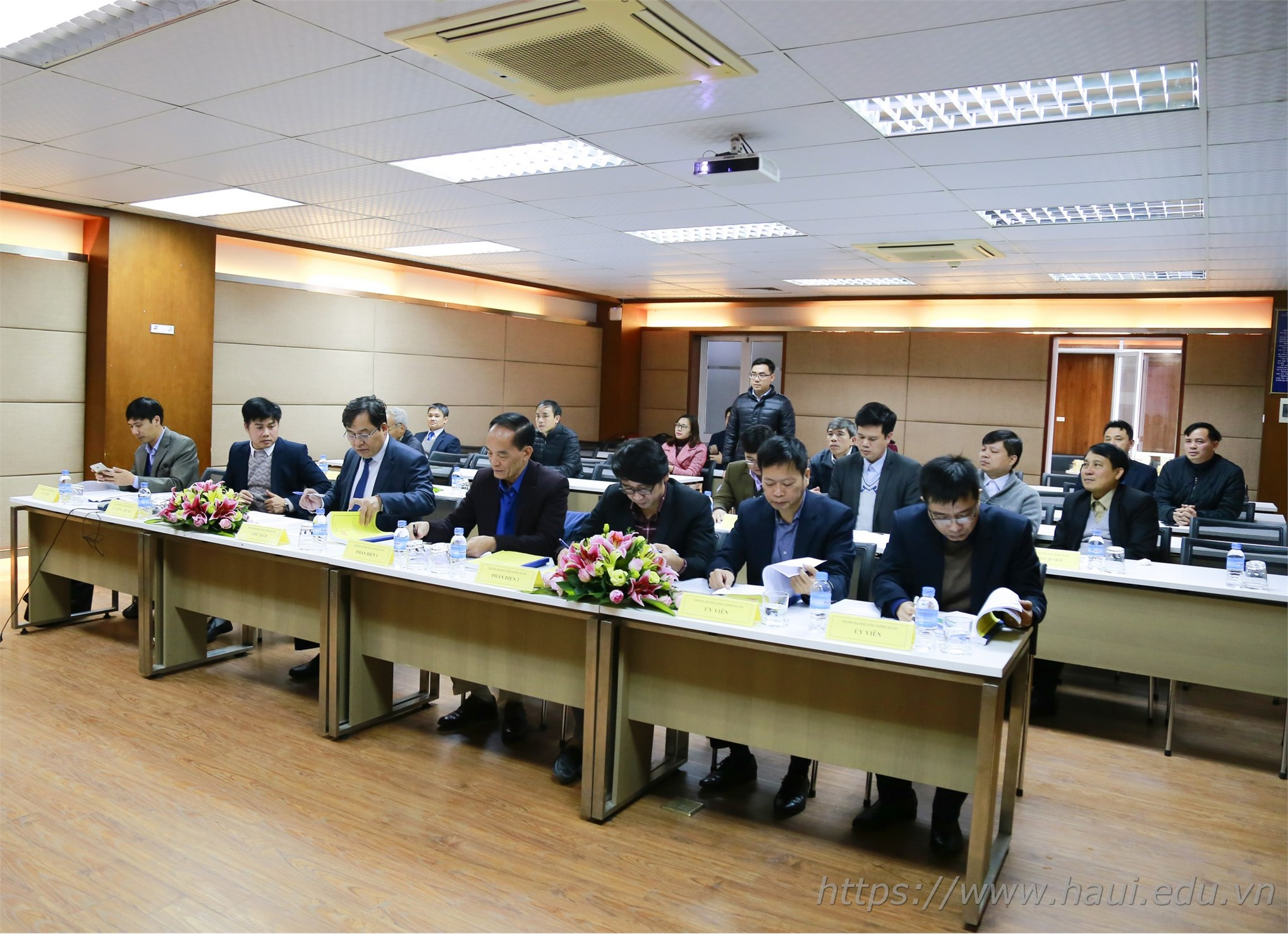 Đại học Công nghiệp Hà Nội tổ chức đánh giá luận án tiến sĩ cấp cơ sở chuyên ngành Kỹ thuật cơ khí