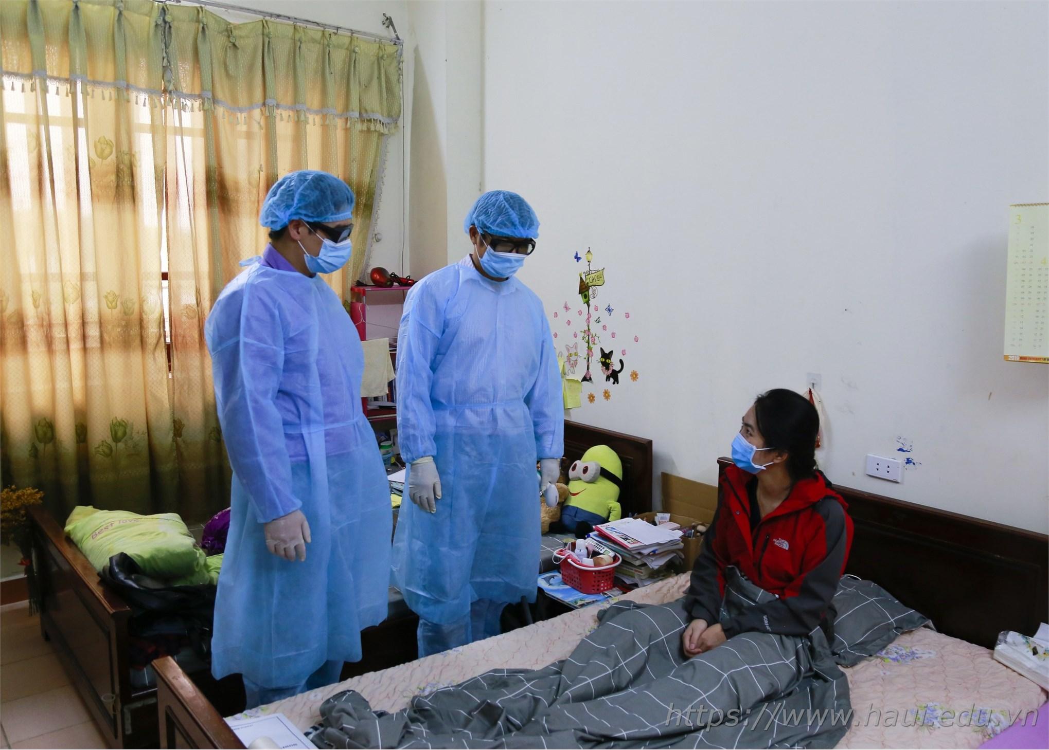 Đại học Công nghiệp Hà Nội diễn tập phòng chống dịch COVID-19