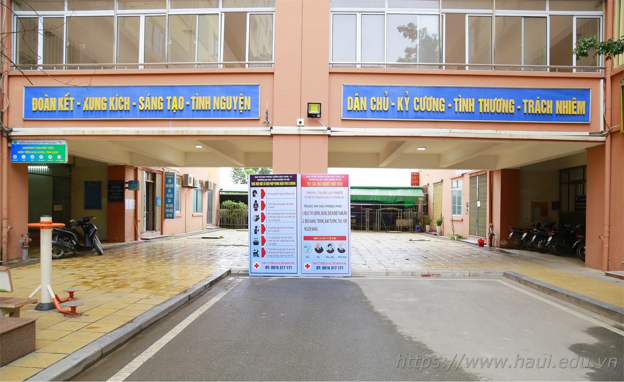 Tâm sự của sinh viên Đại học Công nghiệp Hà Nội ở Ký túc xá thời COVID-19