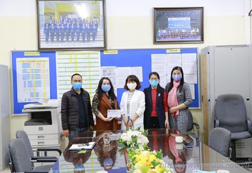 Công đoàn Trường Đại học Công nghiệp Hà Nội với công tác phòng chống dịch Covid-19