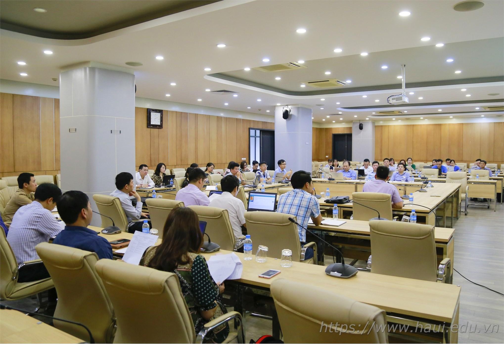 Tập huấn xây dựng hệ thống tài liệu và hướng dẫn sử dụng phần mềm kiểm định chất lượng