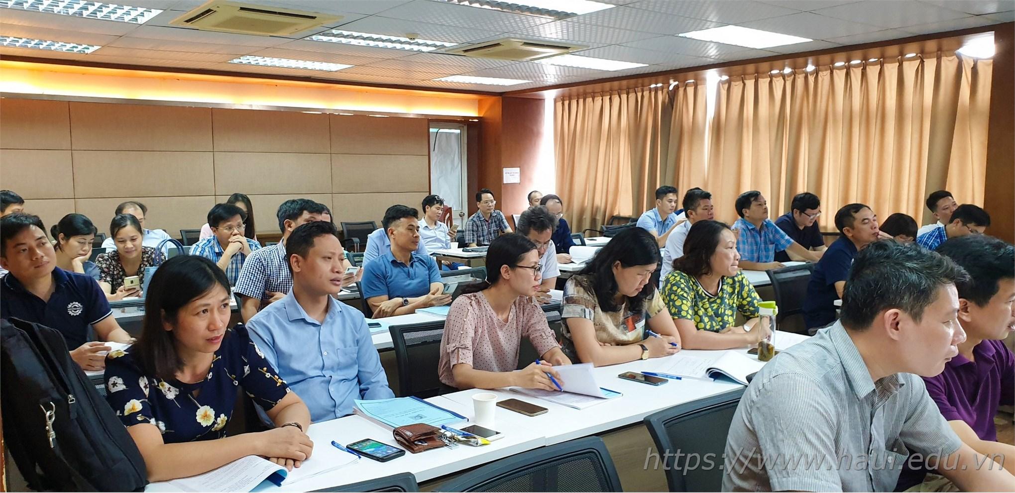 Đại học Công nghiệp Hà Nội tập huấn xây dựng bộ tài liệu hướng dẫn đánh giá kết quả học tập học phần